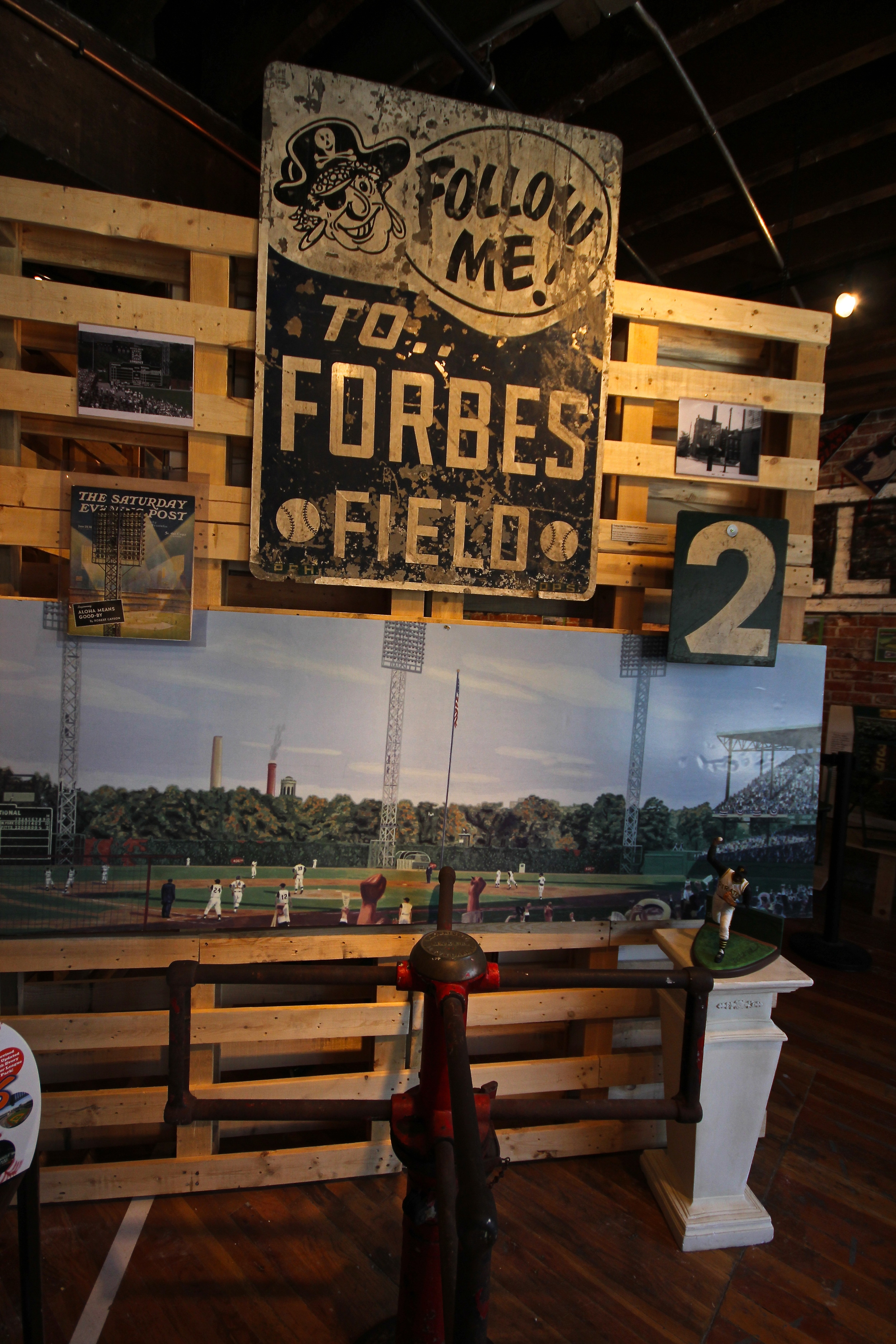 Turnstile from Forbes Field