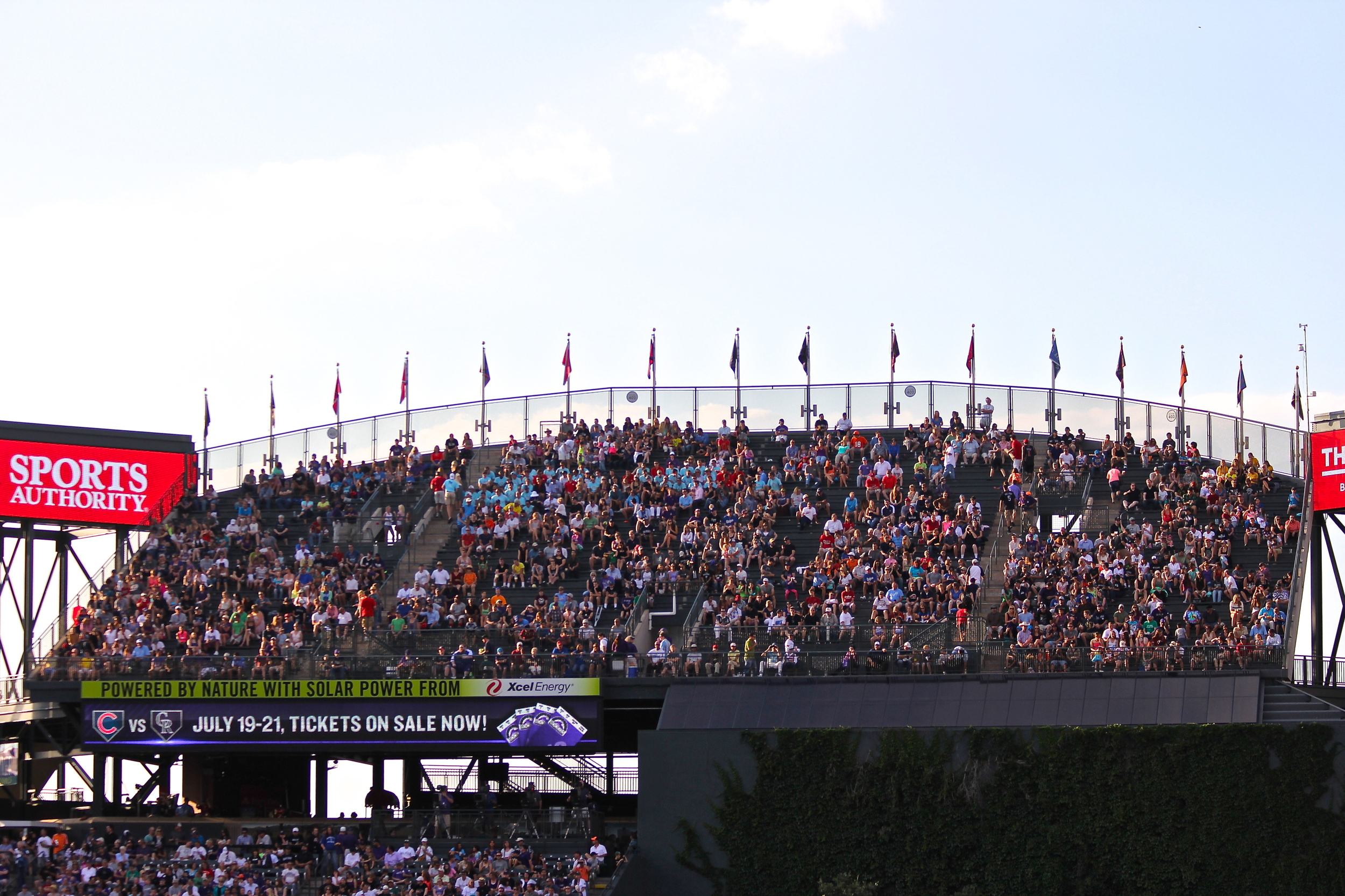 Rockpile seats - $1 under 12 or over 55 and $4 for everyone else
