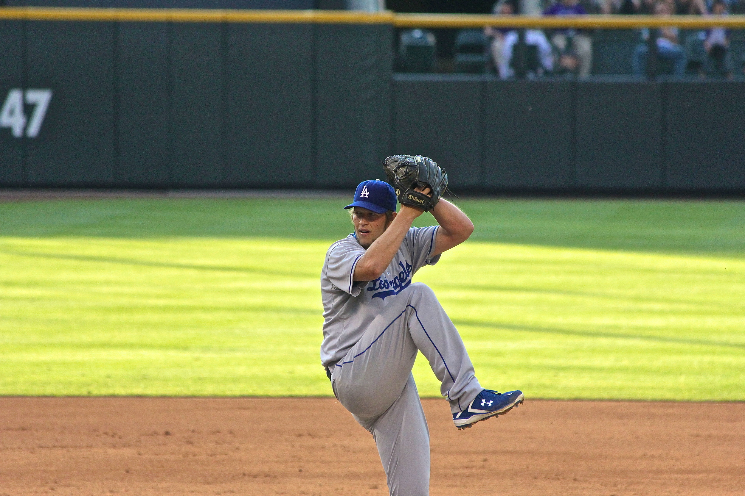 Complete game shutout for Clayton Kershaw