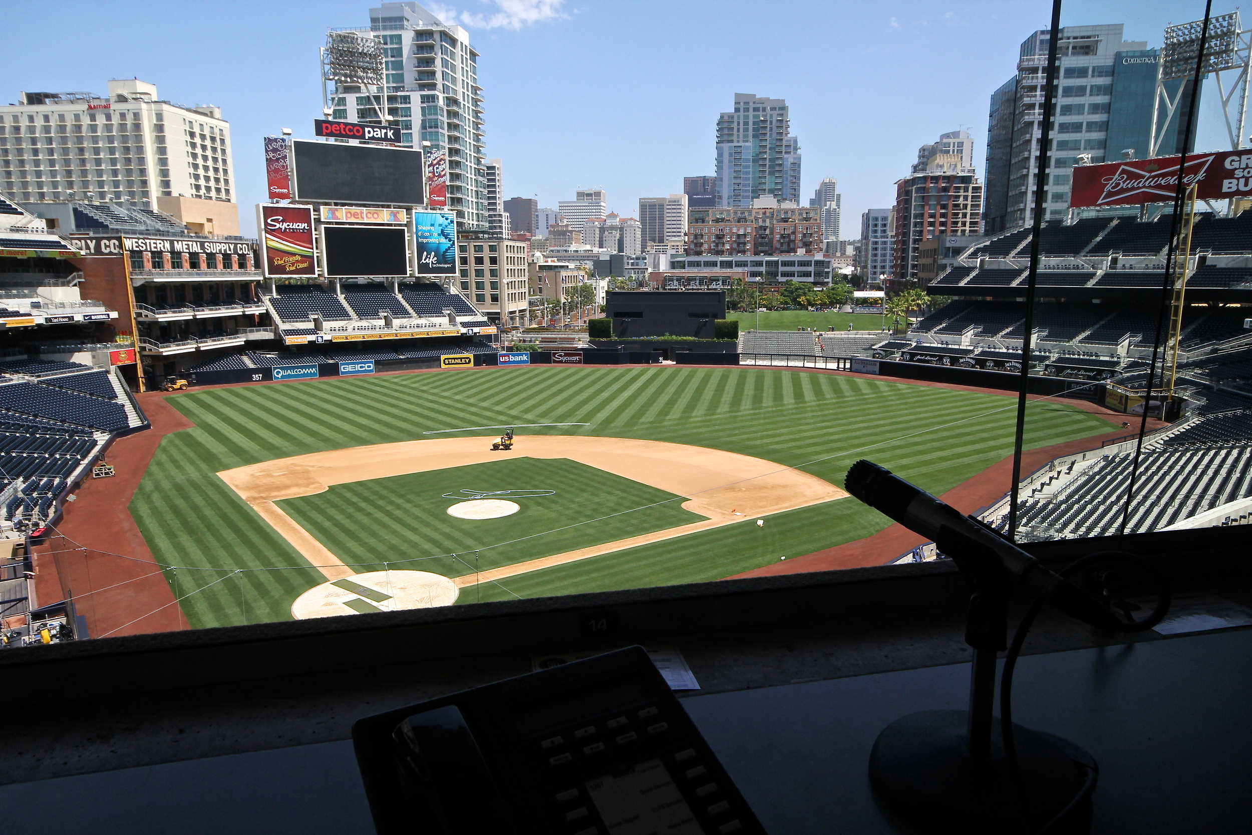 Petco view from the press box.JPG