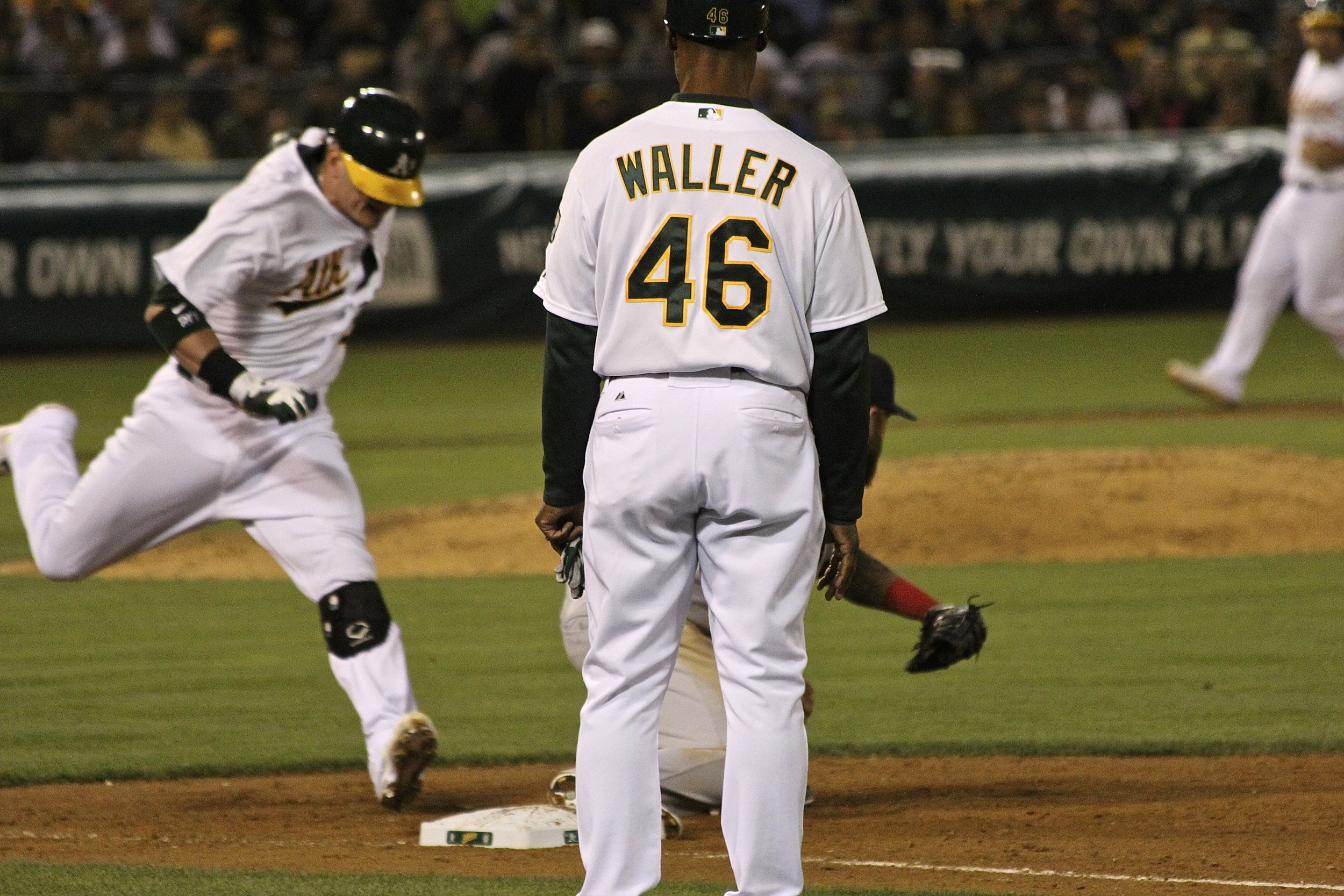Out of the way Waller!
