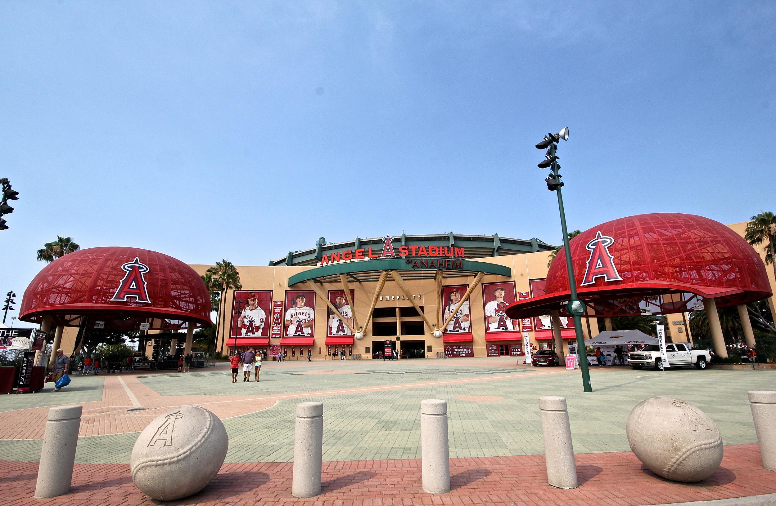 Angels Stadium exterior