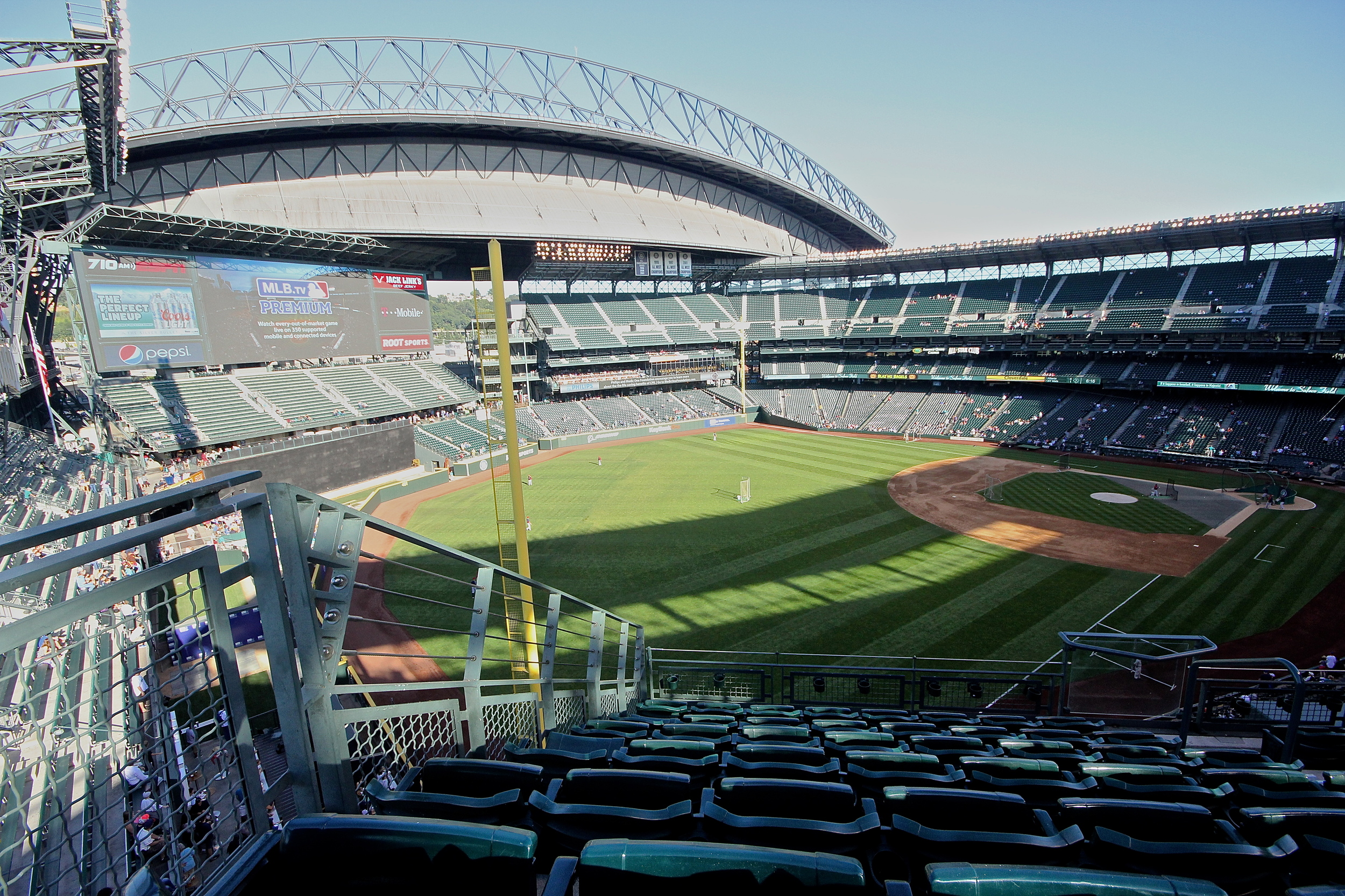 One of the many views available at Safeco