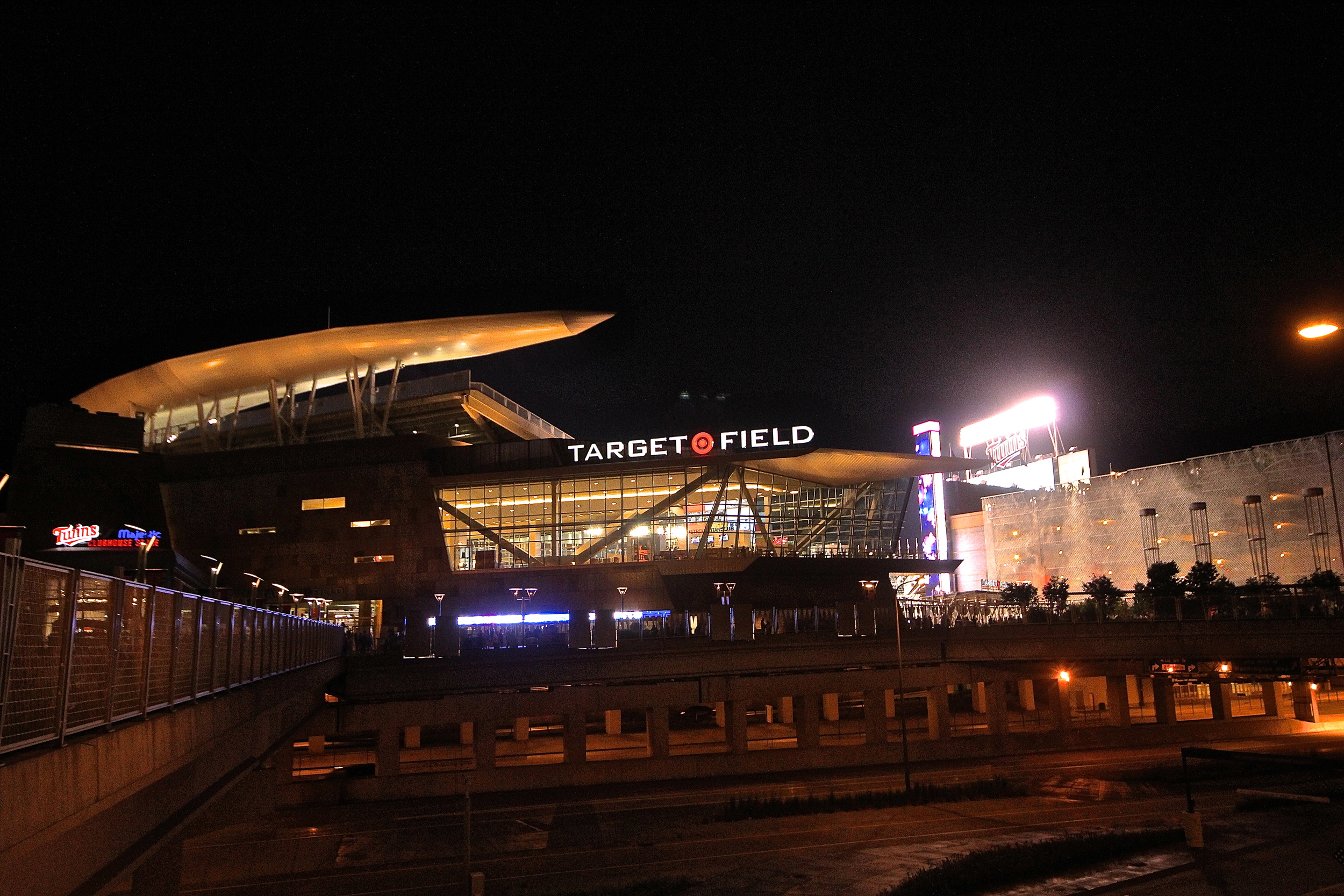 Good night Target Field