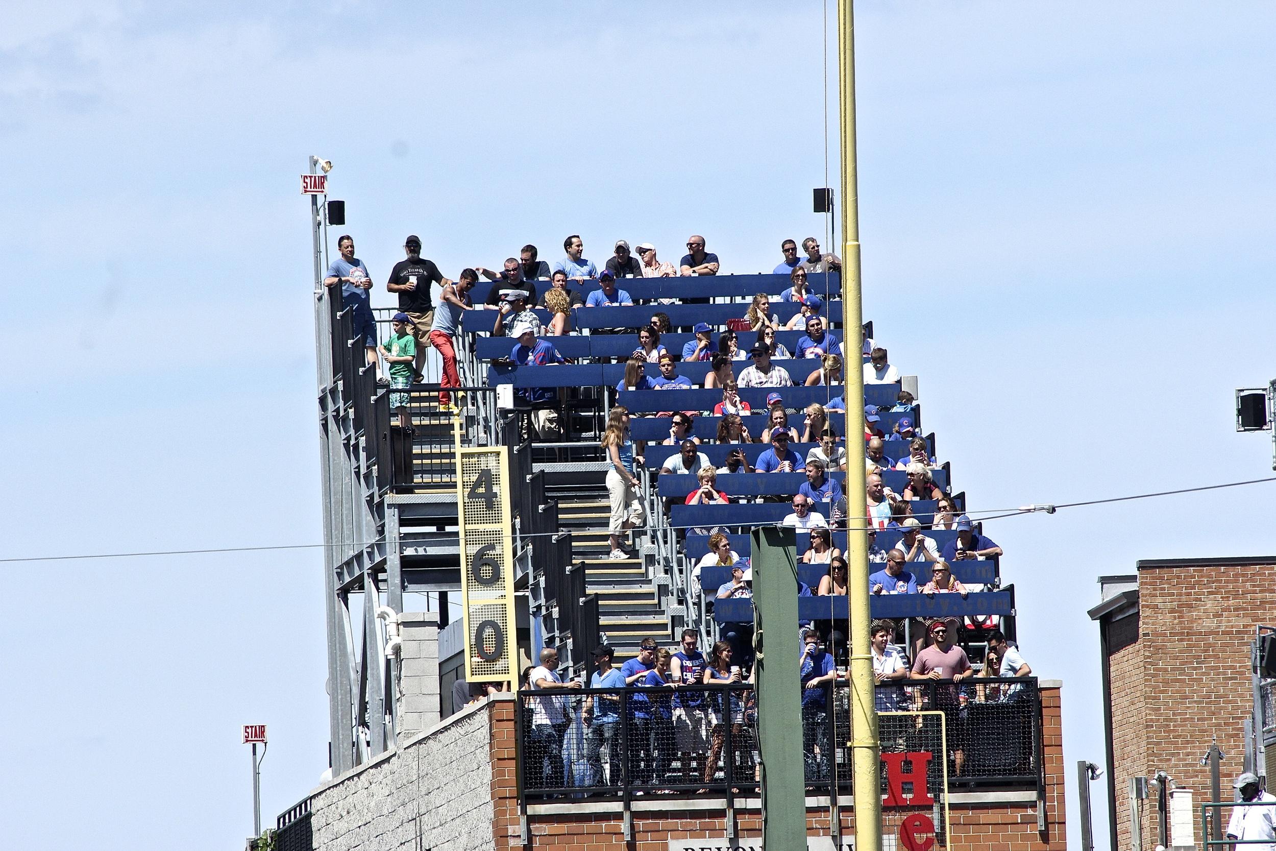 Rooftop seats