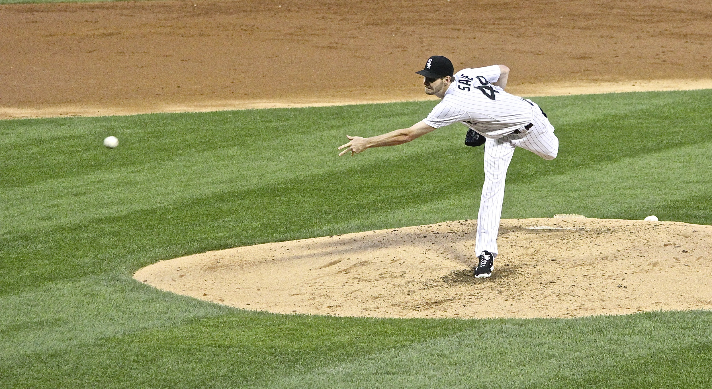 Chris Sale tosses one in