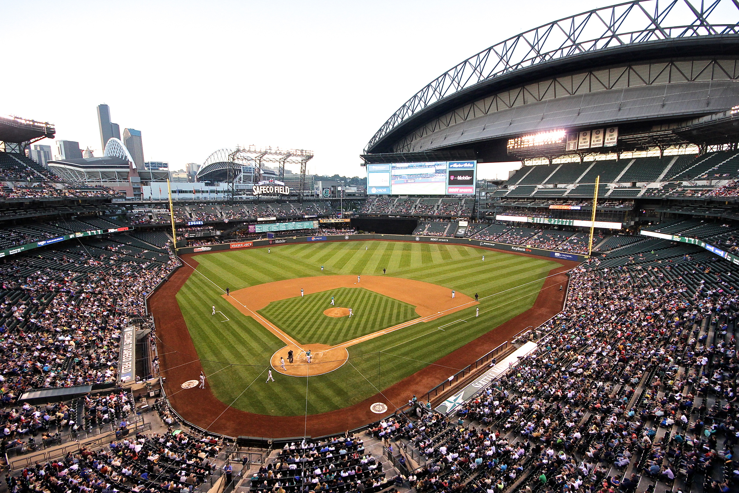 The absolutely gorgeous Safeco Field