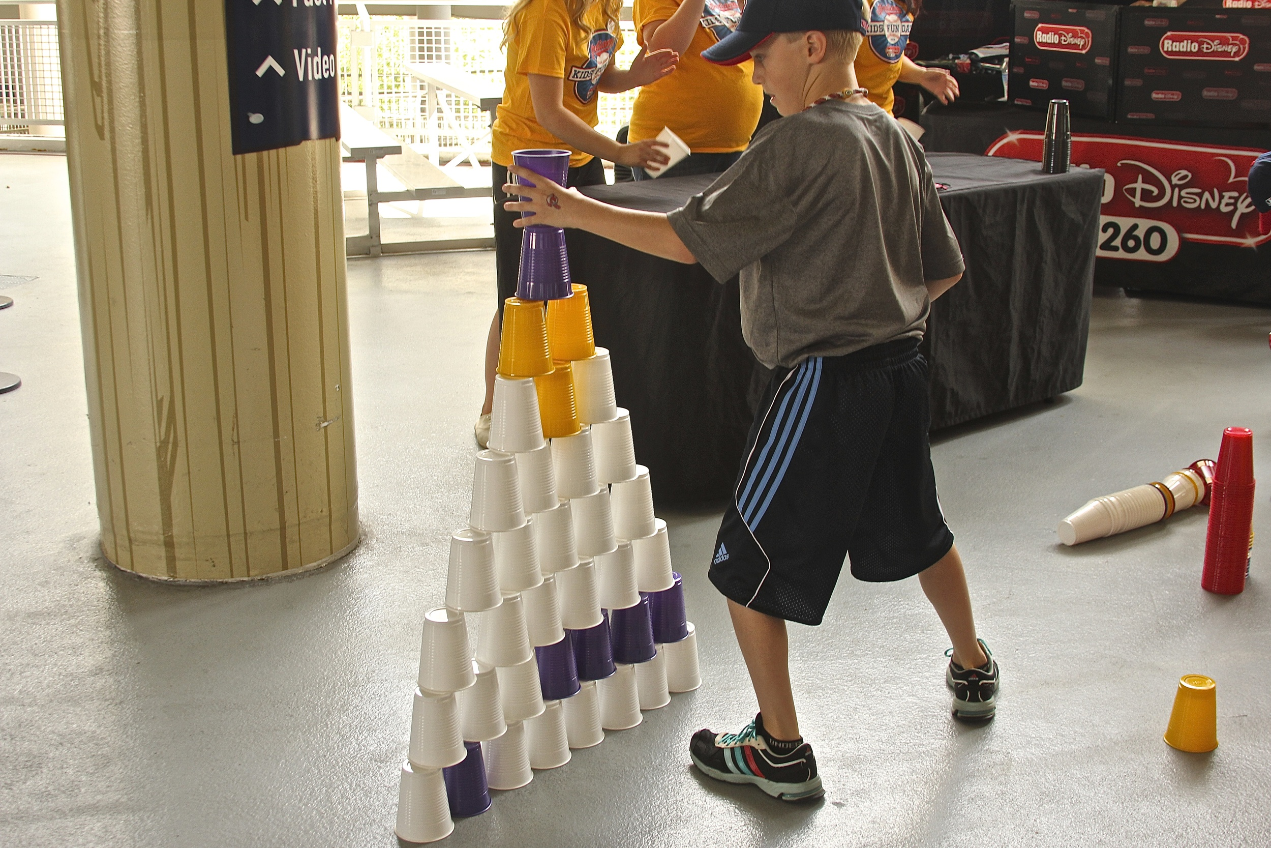 Stack those cups!