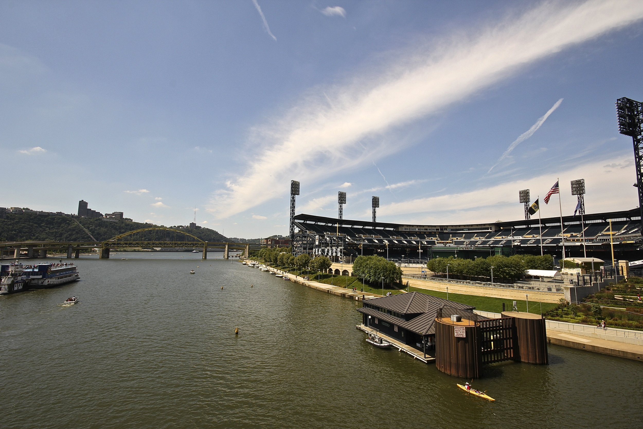 Another view from the Clemente Bridge