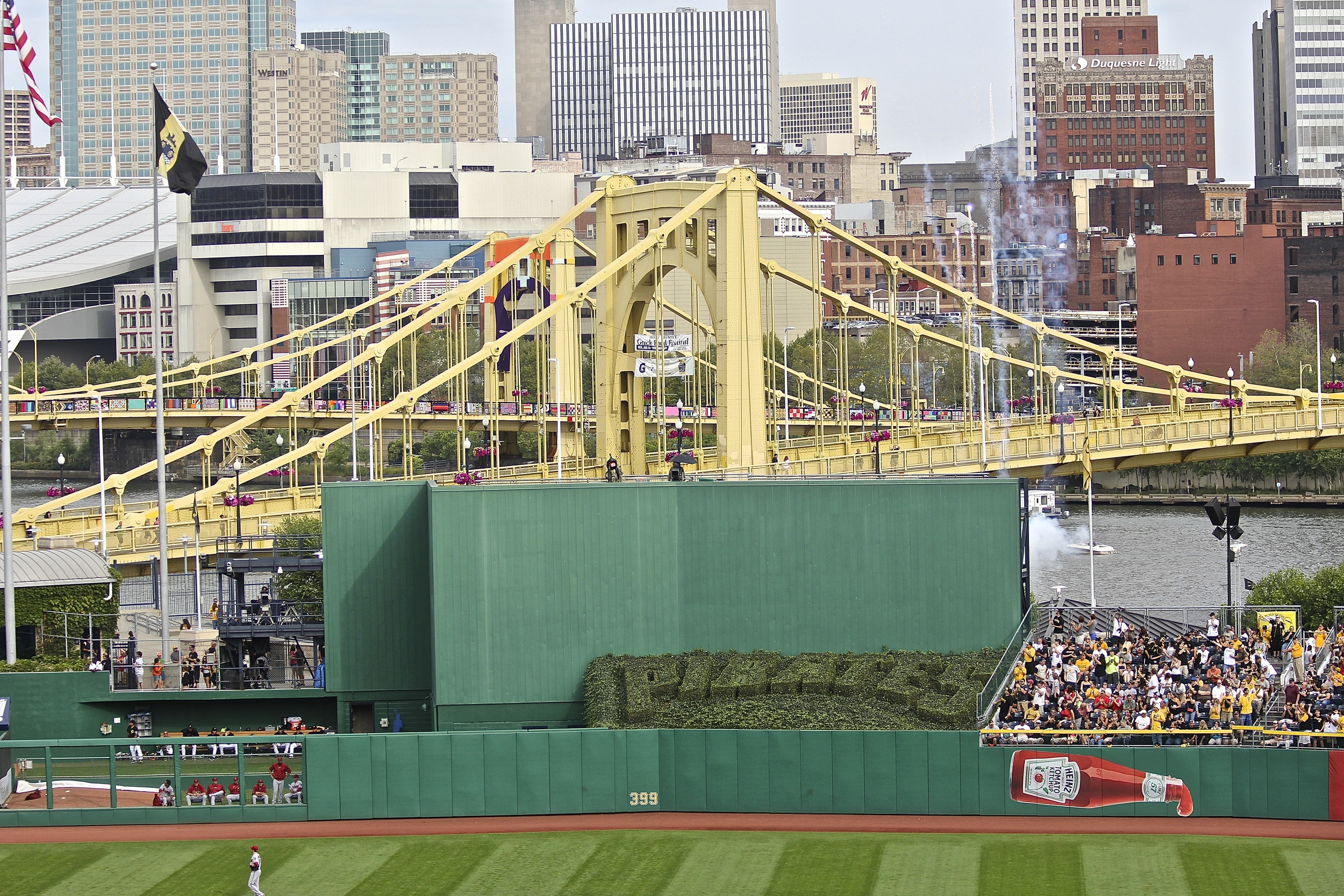 My view of the Clemente Bridge