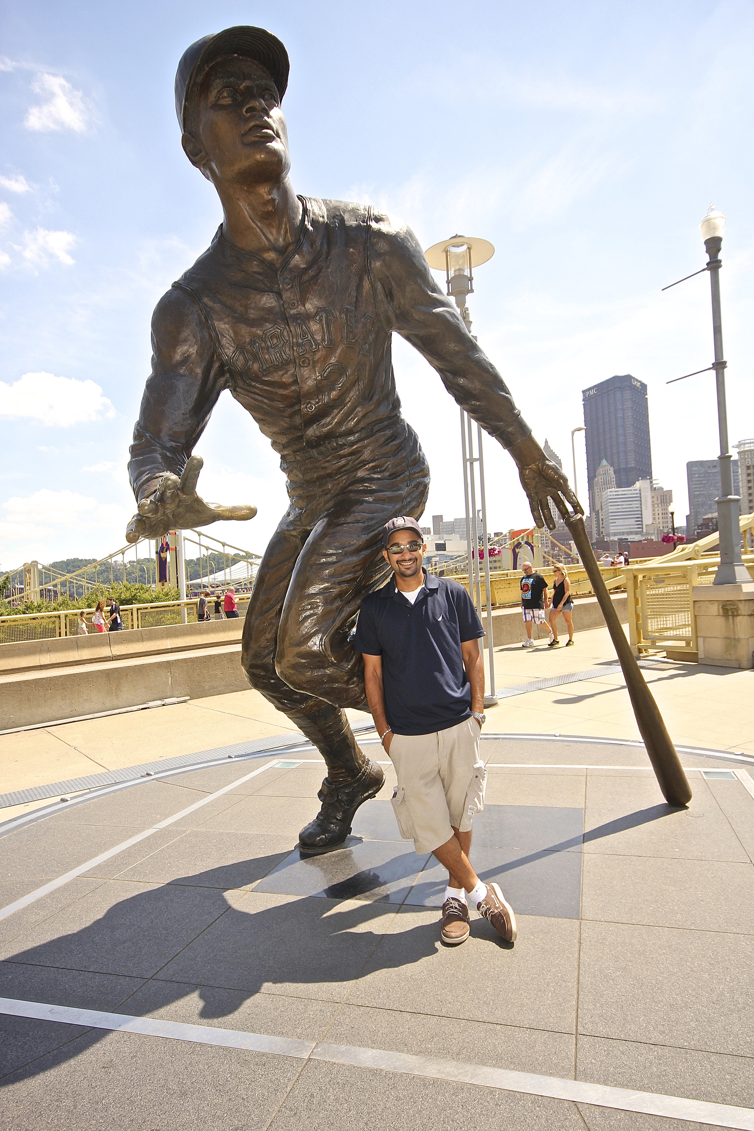 Me and Roberto Clemente