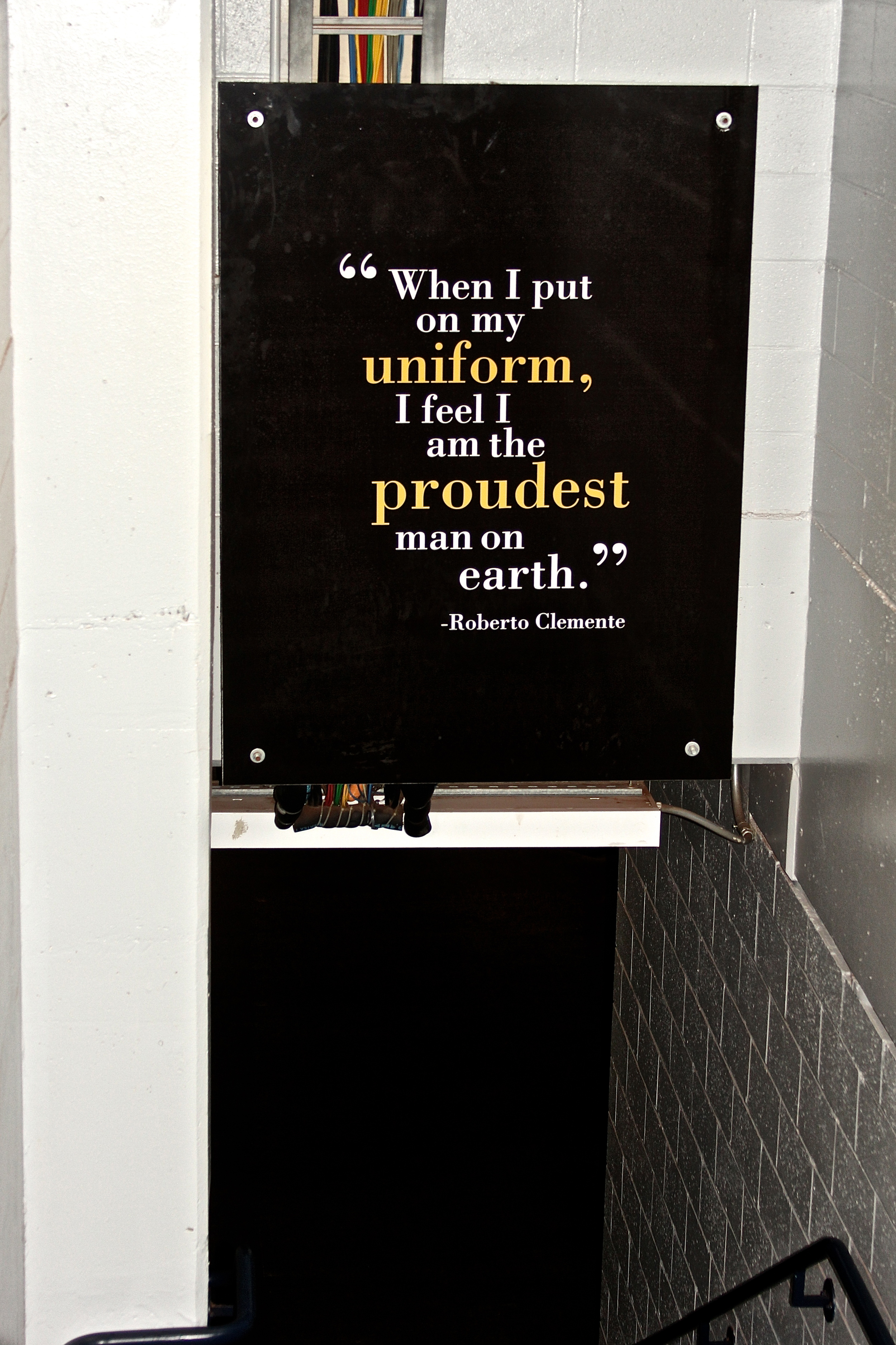 Clemente quote leading to field.jpg
