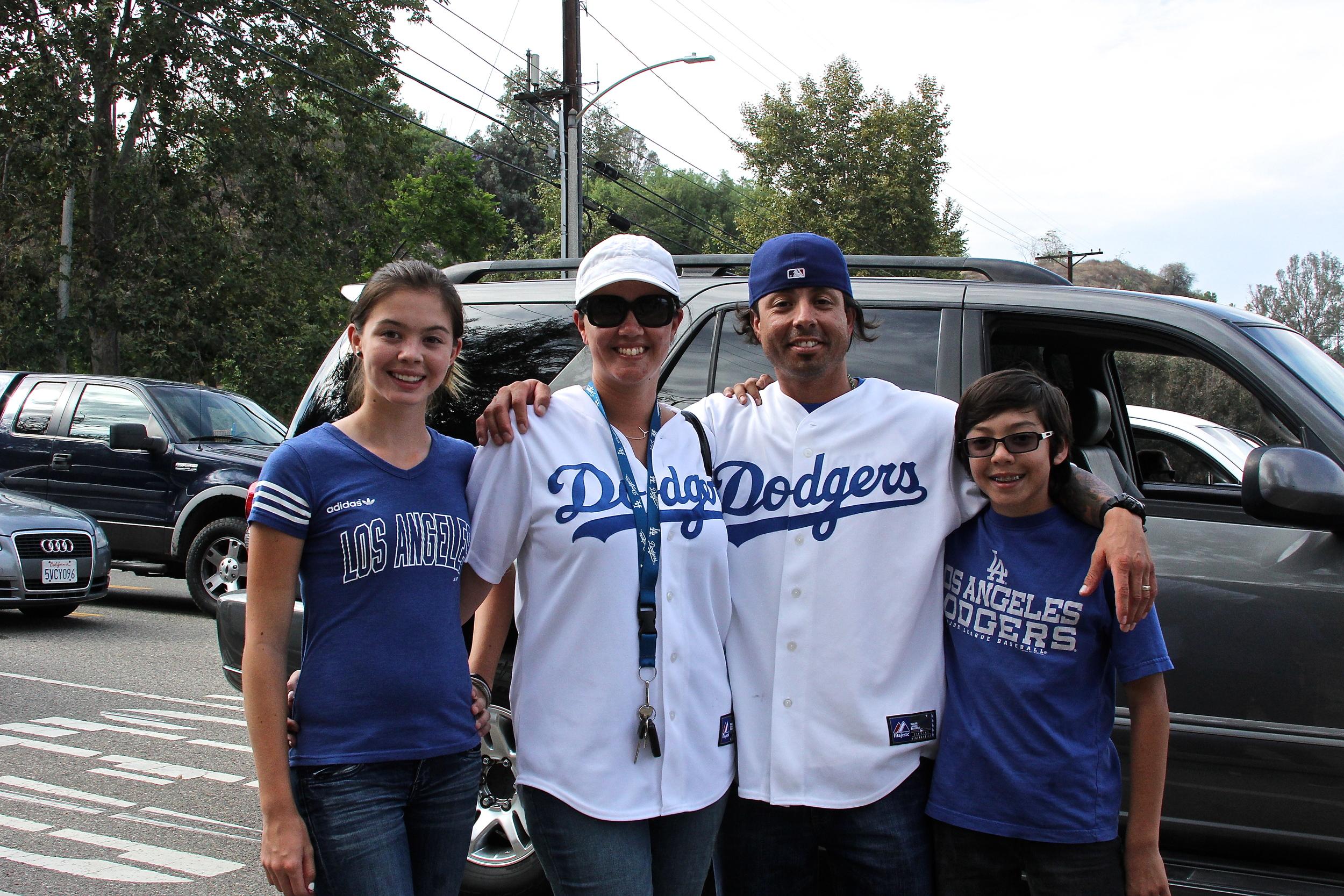 Marissa, Misti, Luis and Antonio
