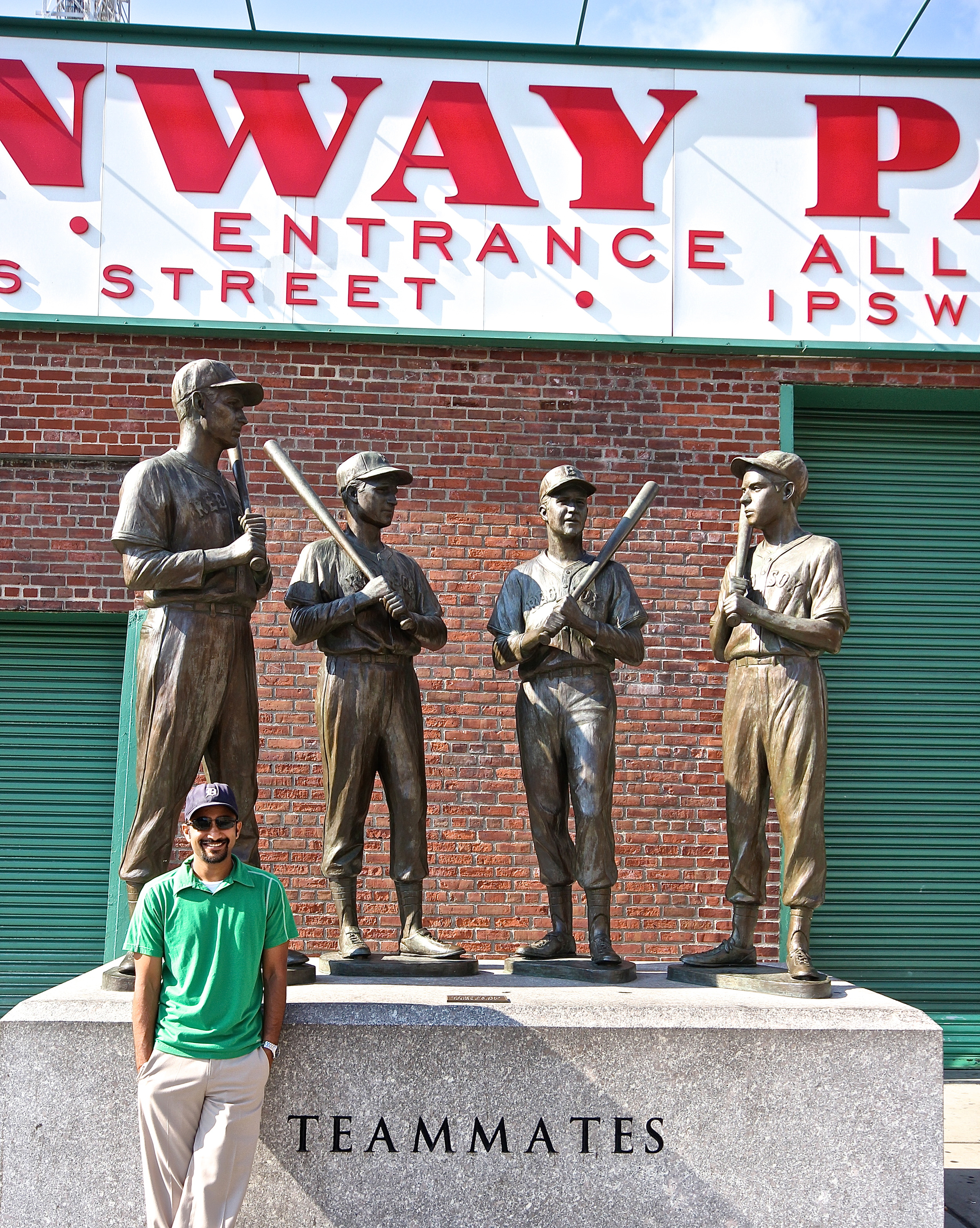 Me with Williams, Pesky, Doerr and DiMaggio