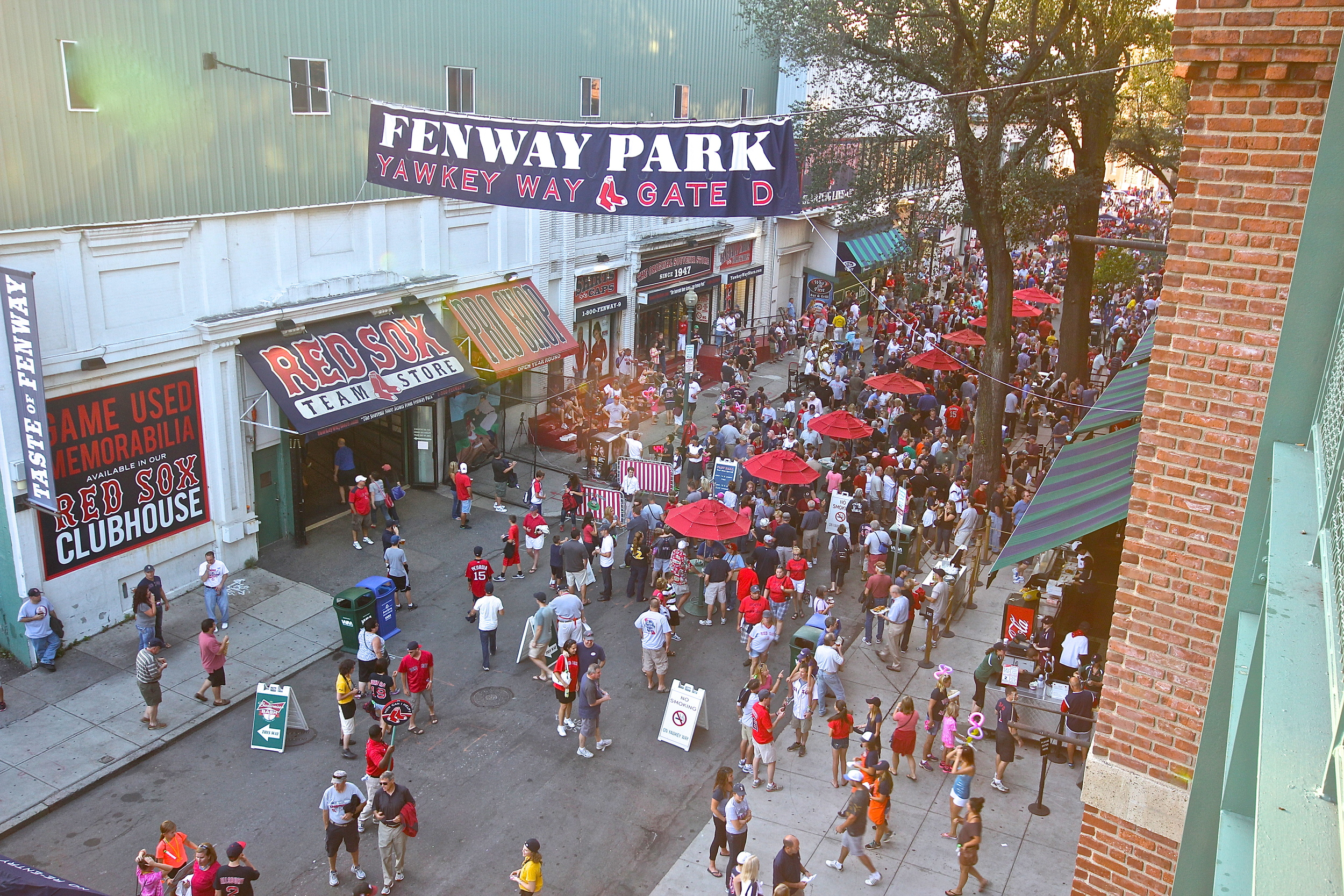 Yawkey Way from above 2.JPG
