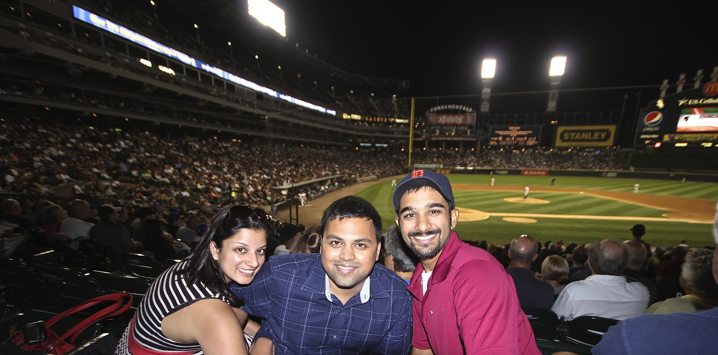 My sister Shikha, my brother-in-law Shakthi and me