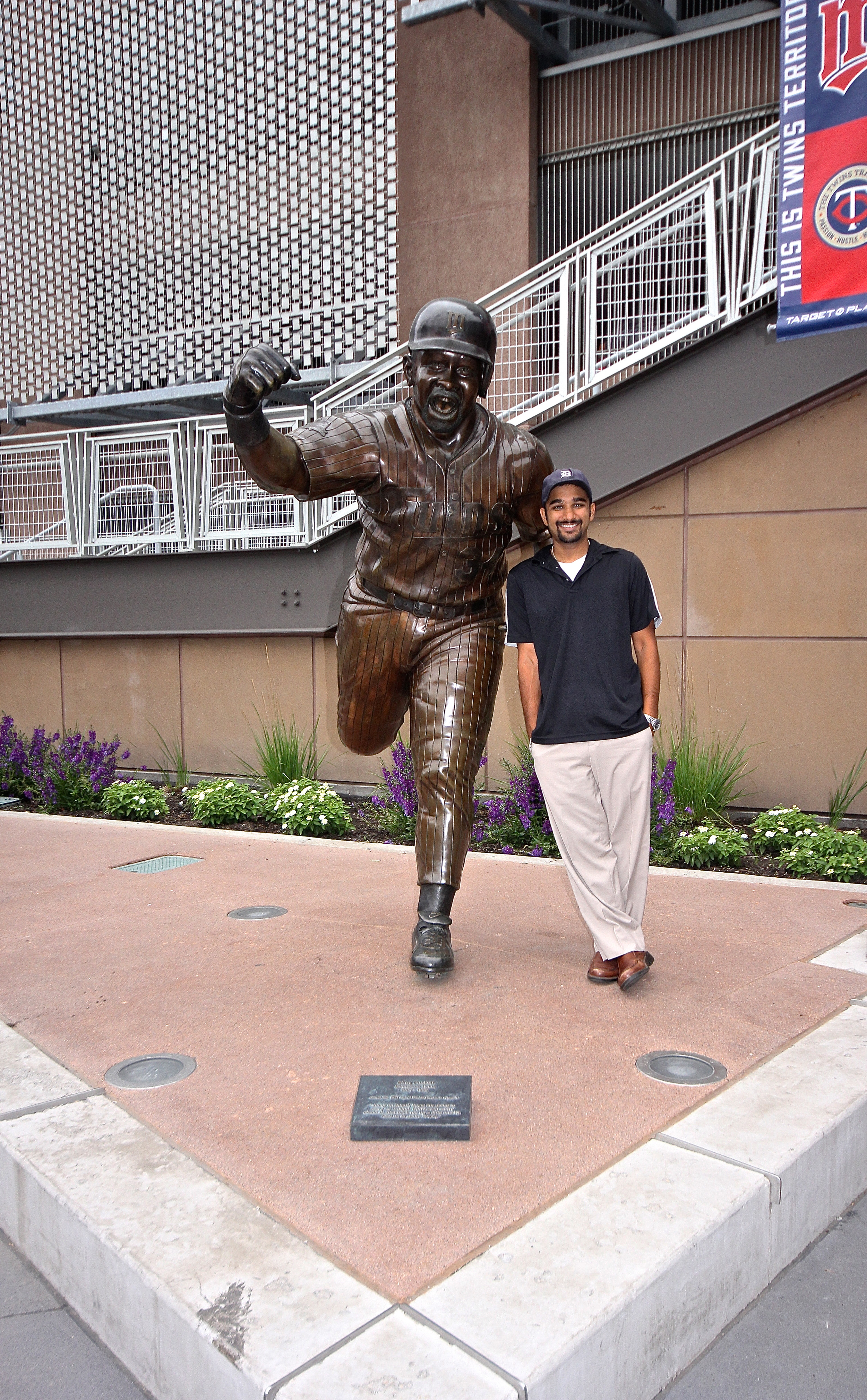 Me and Kirby Puckett