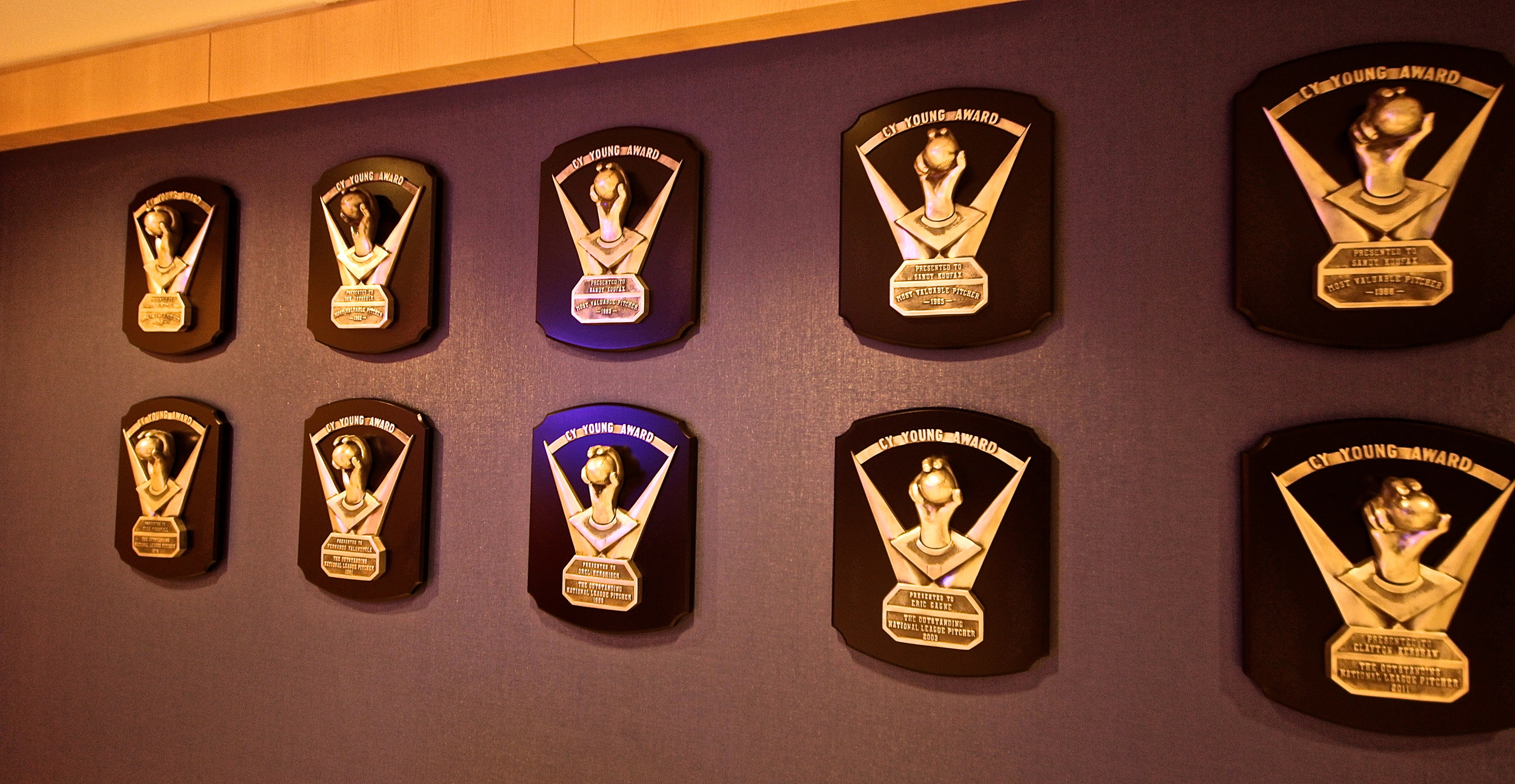 Wall of Cy Youngs