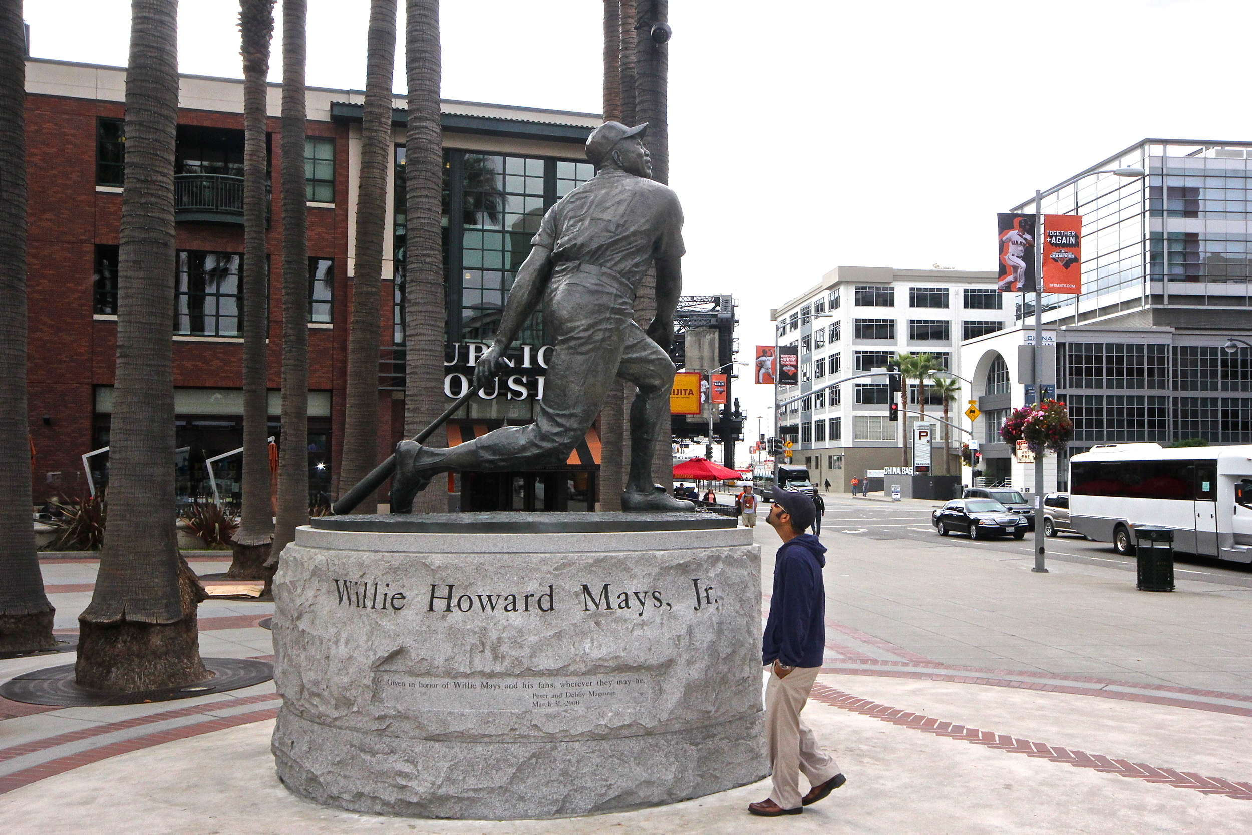 Me and Willie Mays