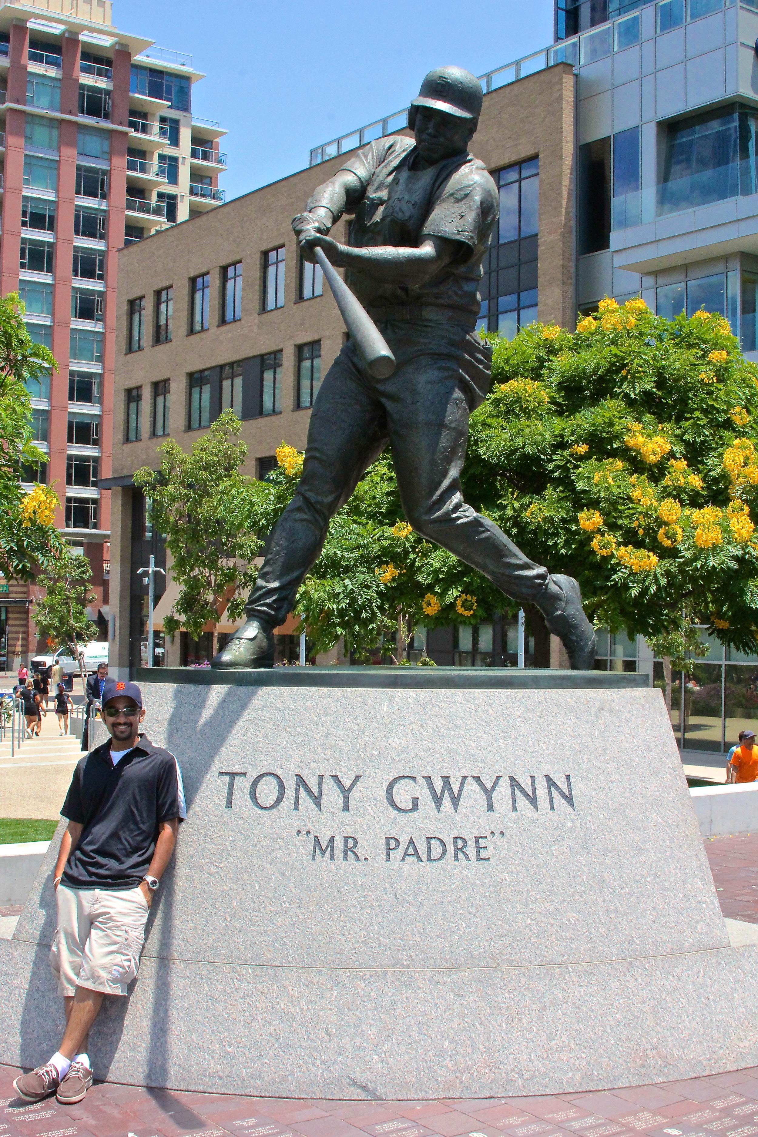Me and Tony Gwynn
