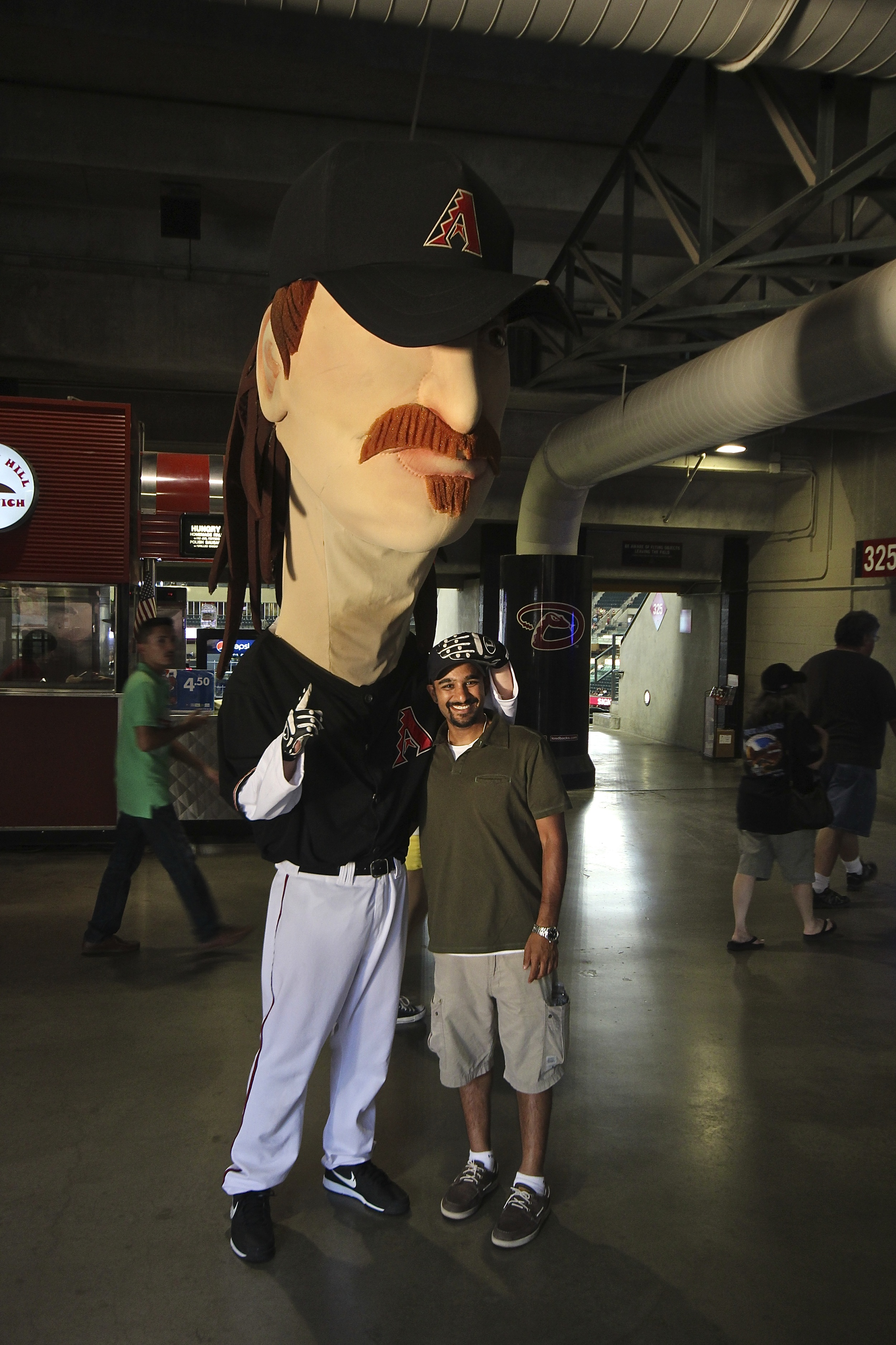 Me and Randy Johnson