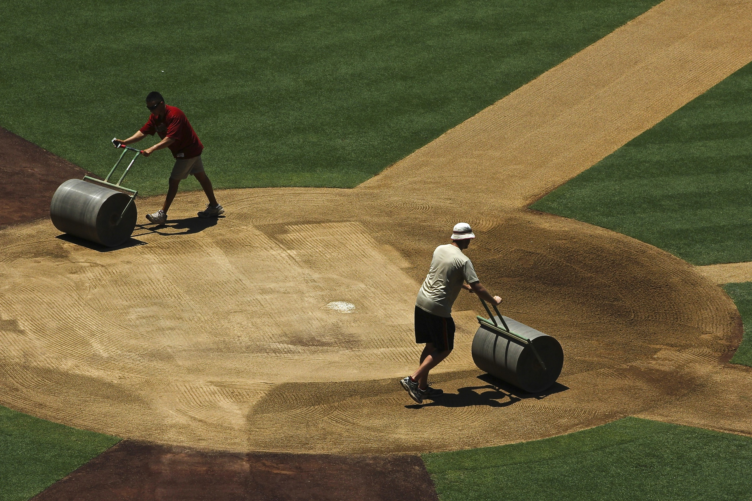 Steamrolling the batters box