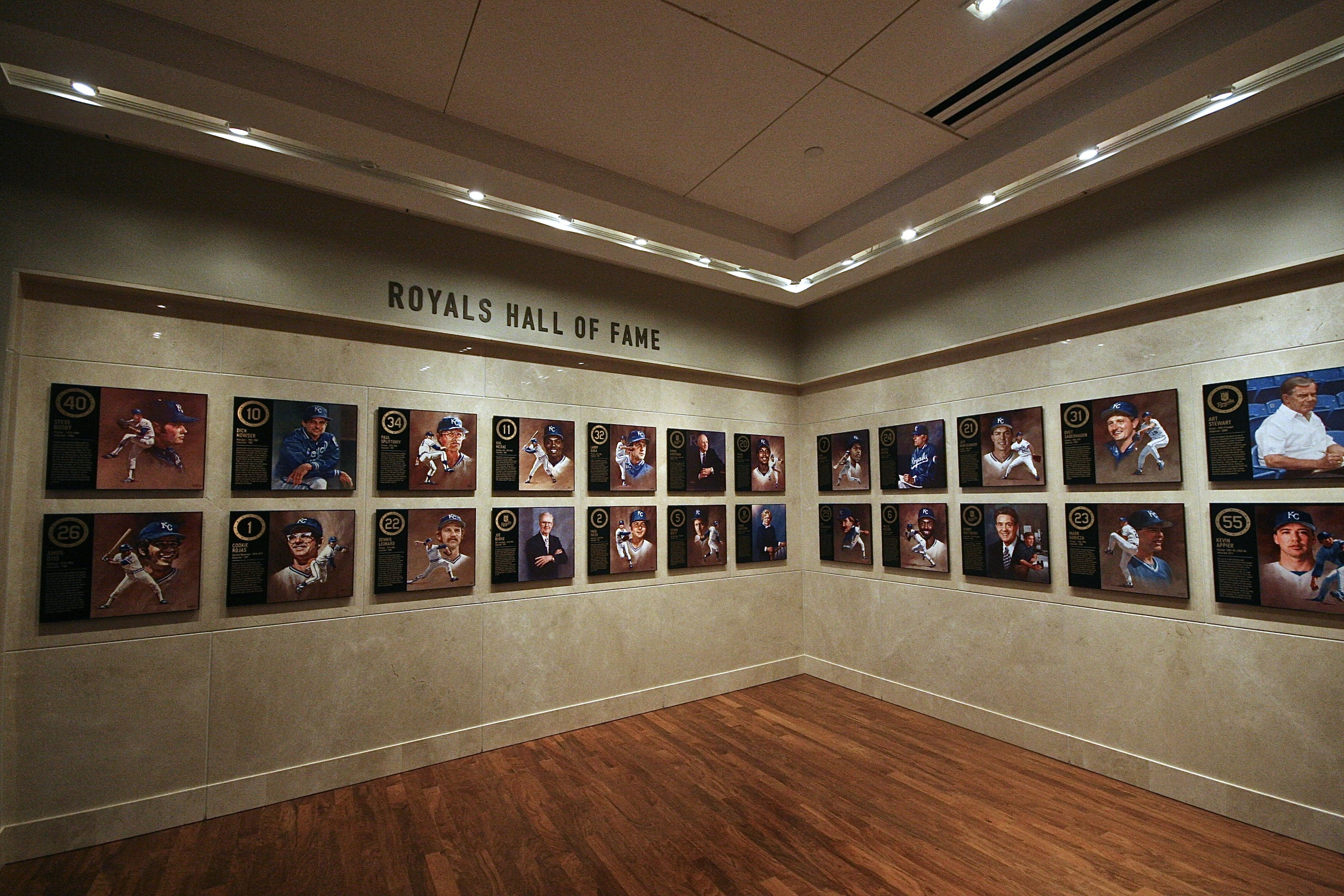 Royals wall of fame