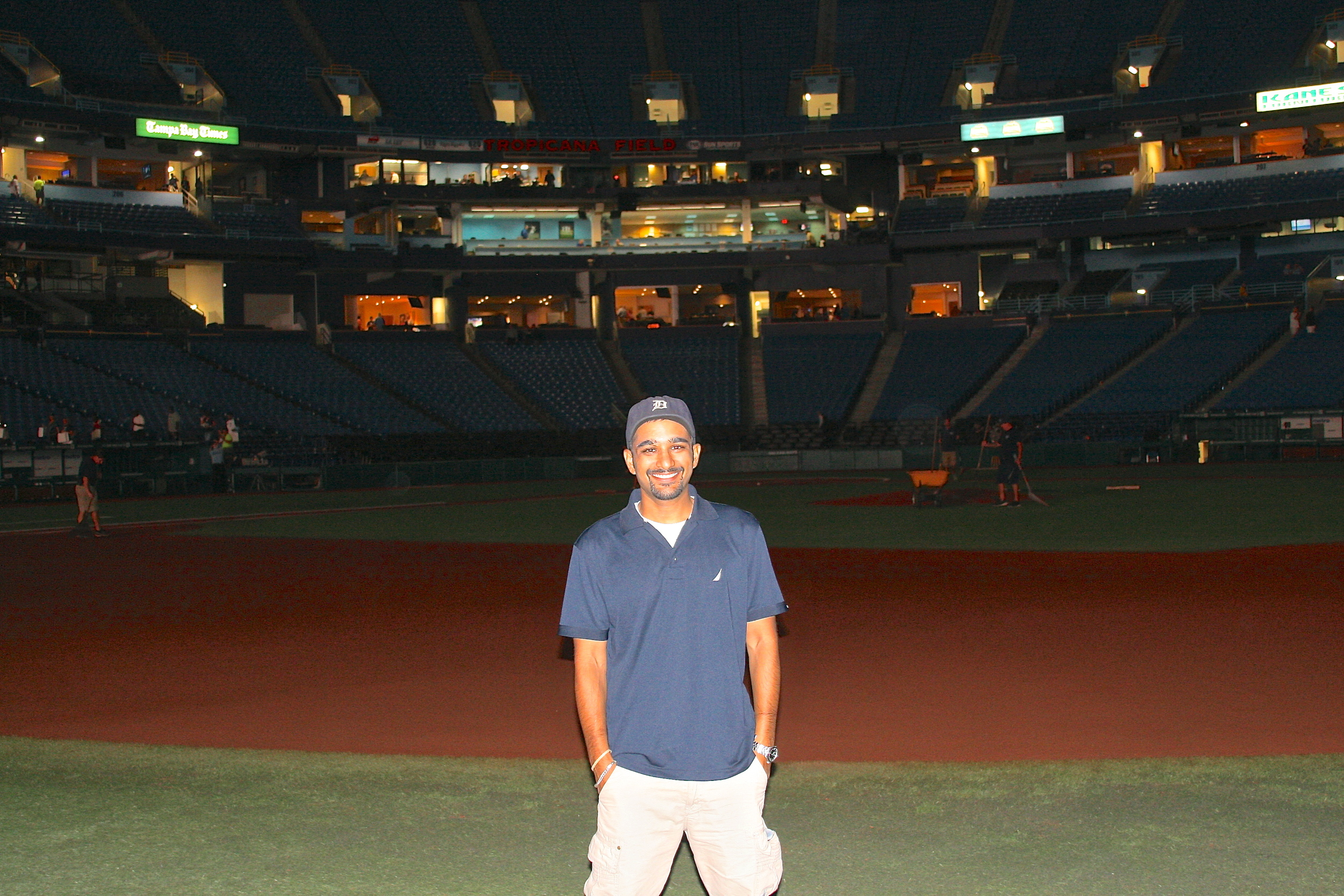 Me on the field