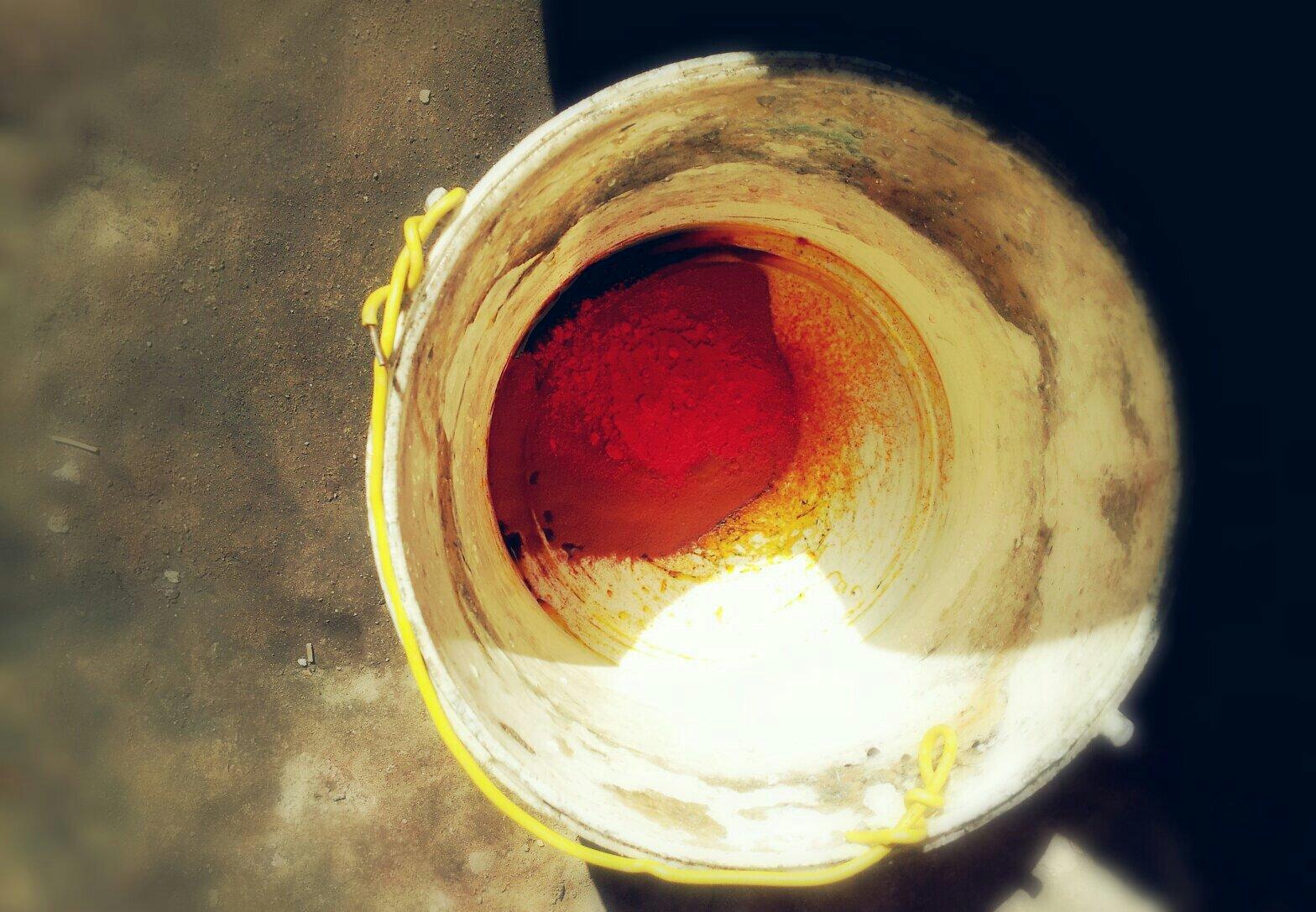 Pure powder dye