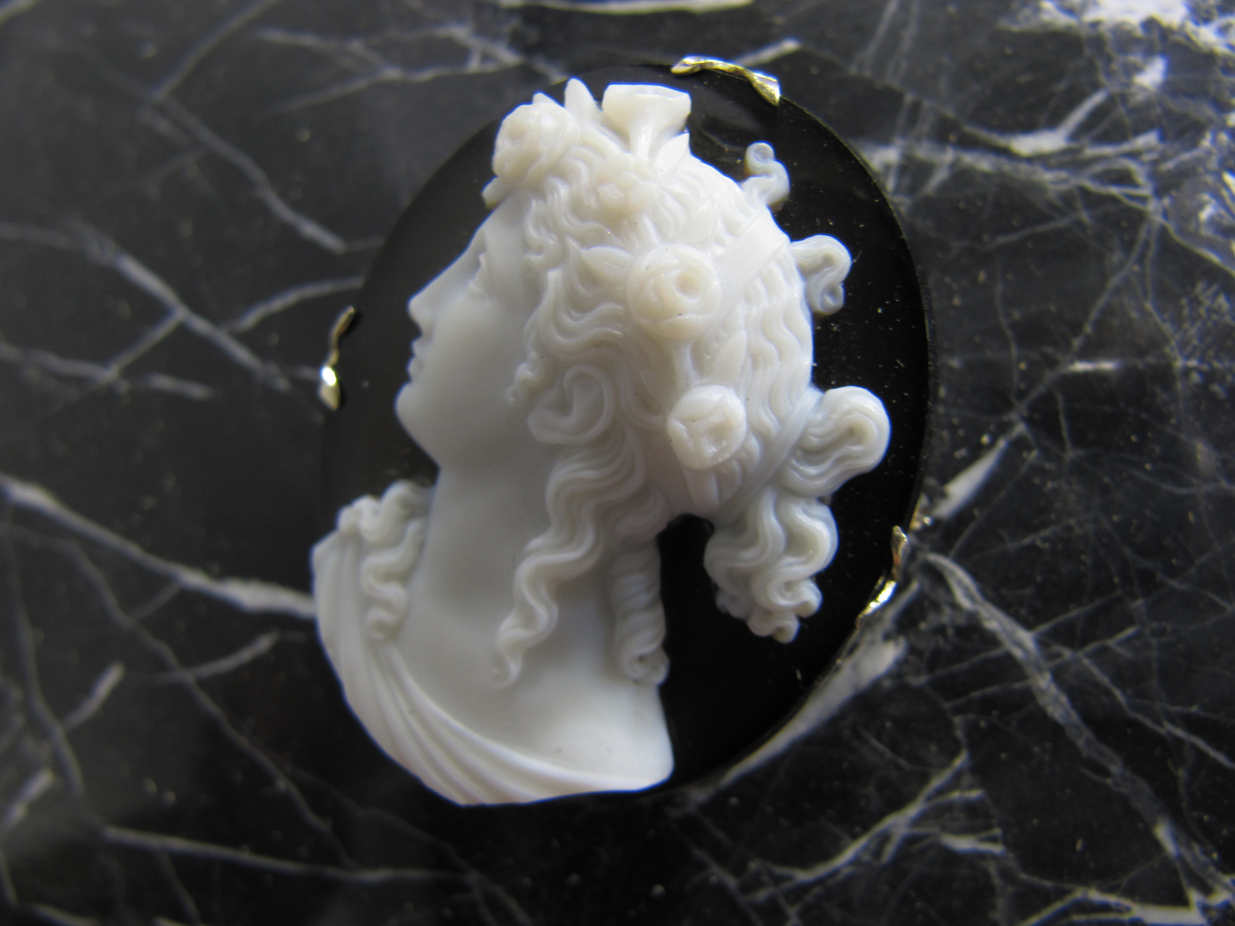 SOLD - Onyx cameo
