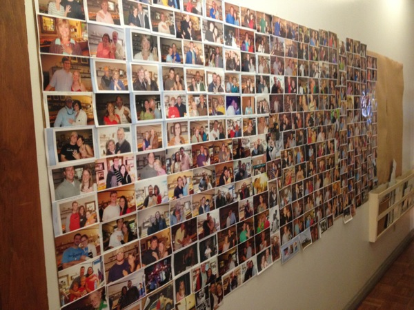 The Wall of Love - pictures of happy couples that have gotten a Walton's ring!