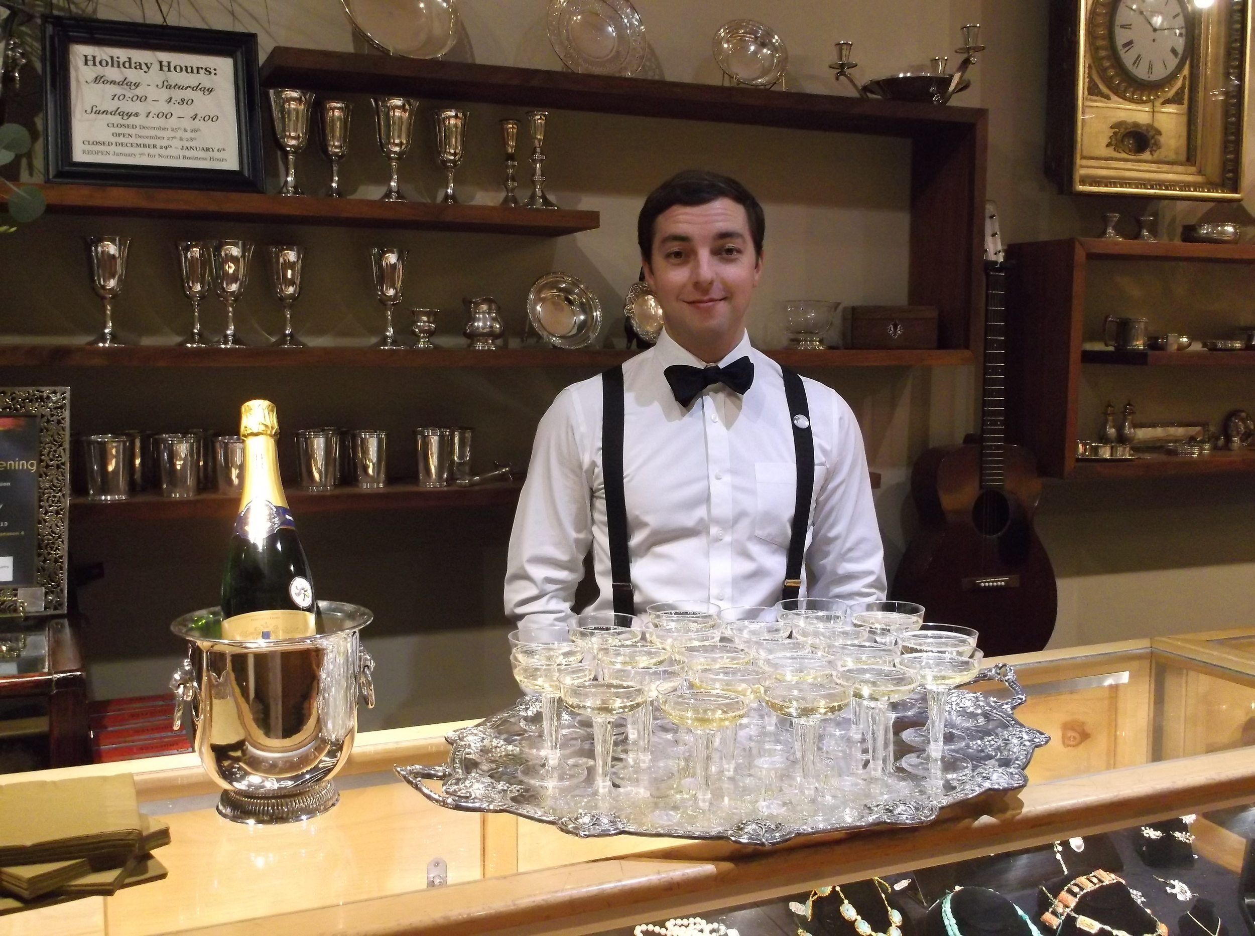 Pat Garland, resident bartender