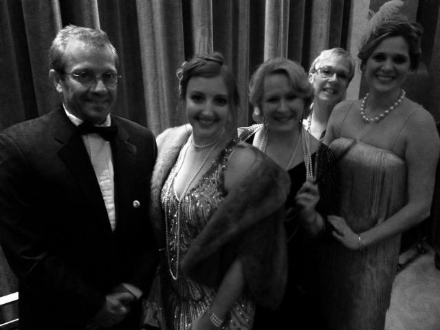 The Walton's Jewelry Crew: Mike Walton, Julie Walton, Linda Parker, Jan Speer, Jennifer Barton.