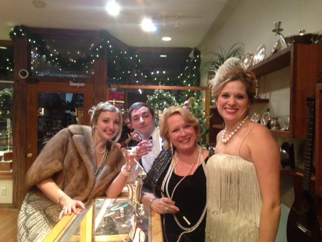 Julie Walton, Patrick Garland, Linda Parker, and Jennifer Barton.