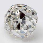 An Old Mine cut diamond.