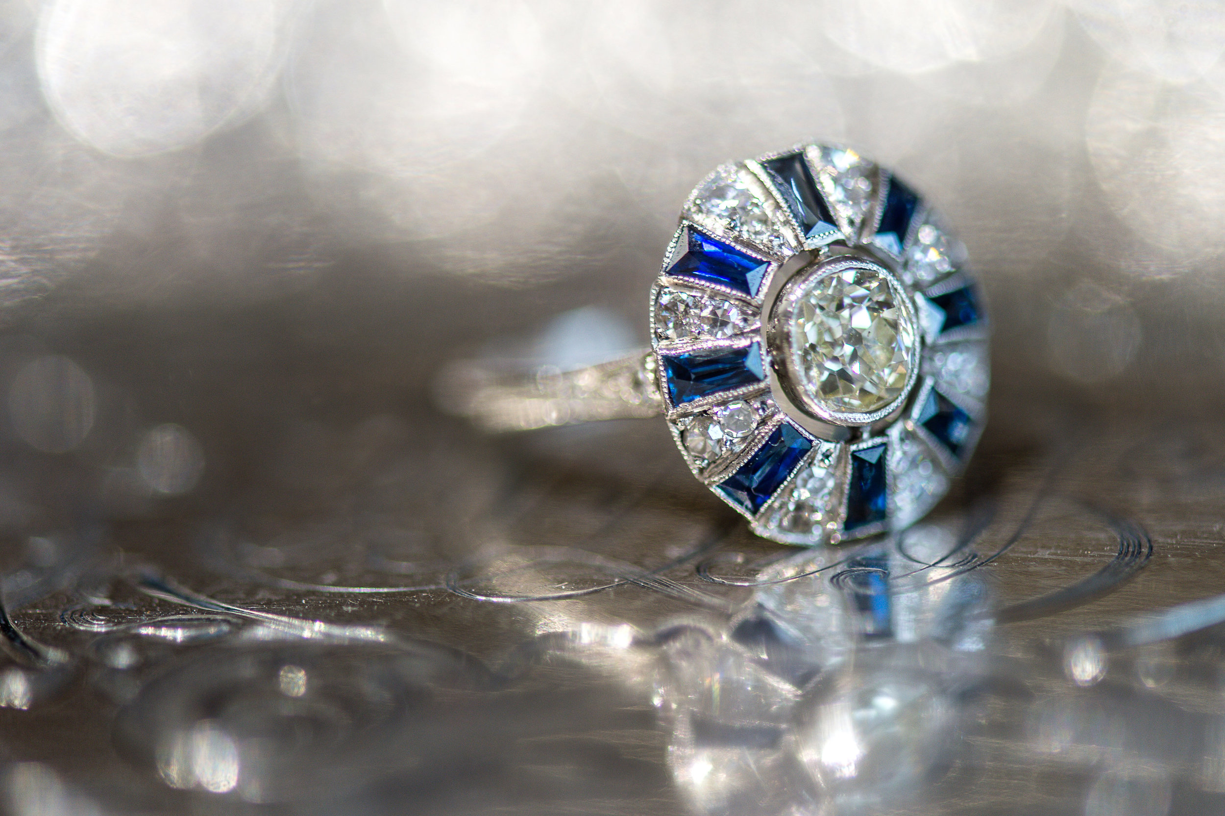 We've got the ring, all you need is prince charming! #cinderellavibes Shop this beauty  HERE .   Photography: Heather Durham Photography