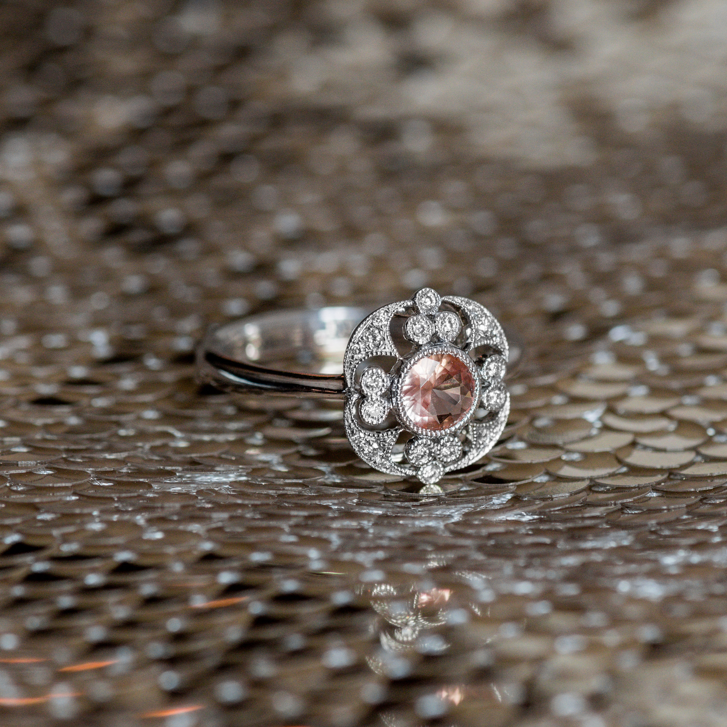 Asking for a friend....If you wear an Imperial Topaz, does that make you a Queen? 👑 . Shop this regal Imperial Topaz ring  HERE !
