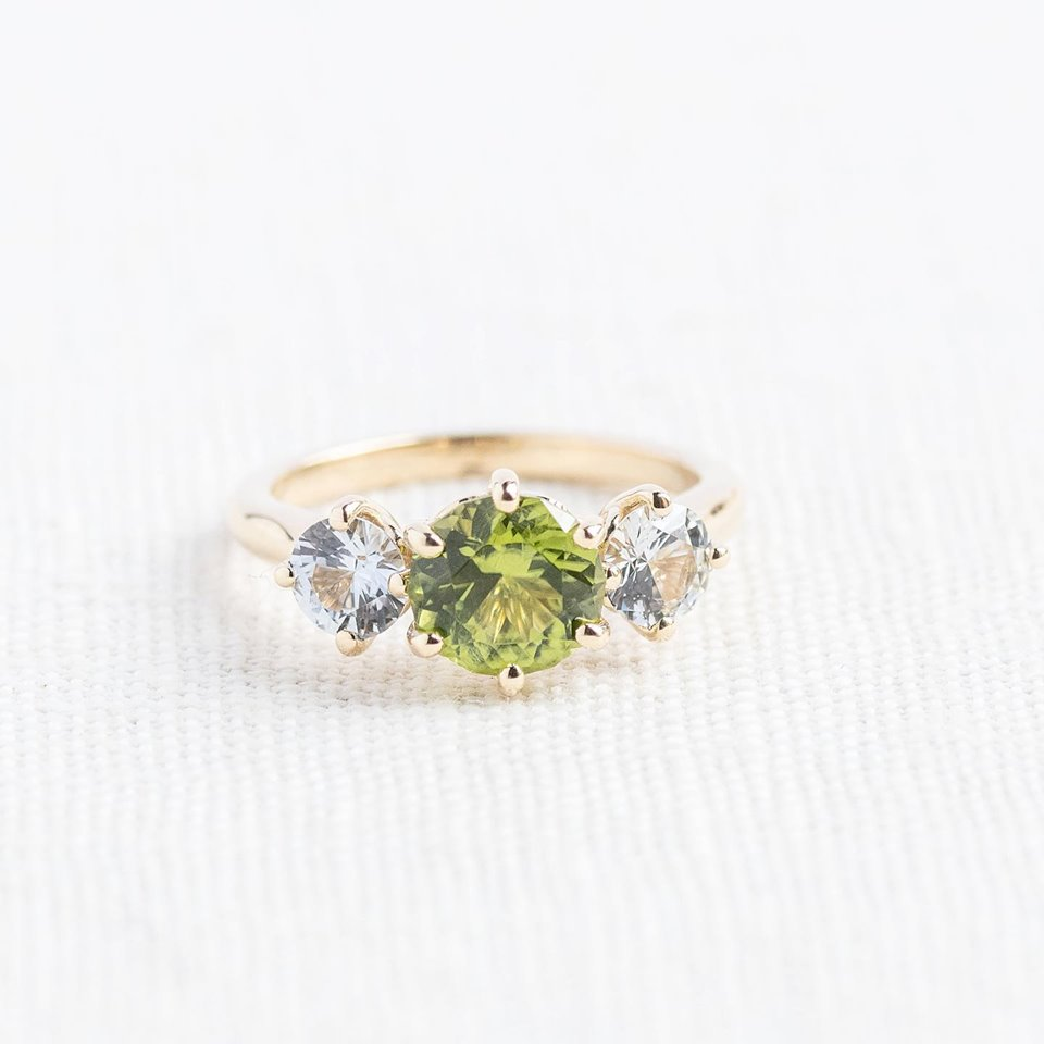 Would you call this 1.70 carat Peridot more Chartreuse or Kelly Green? Either way we love that you can't look at a Peridot without smiling! SHOP  HERE