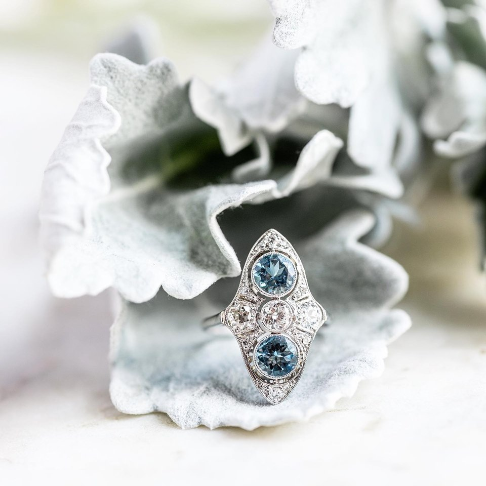 Soft dreamy colors and icy diamond accents have us longing for the cooler days to come here in Tennessee. What about you? SHOP  HERE !