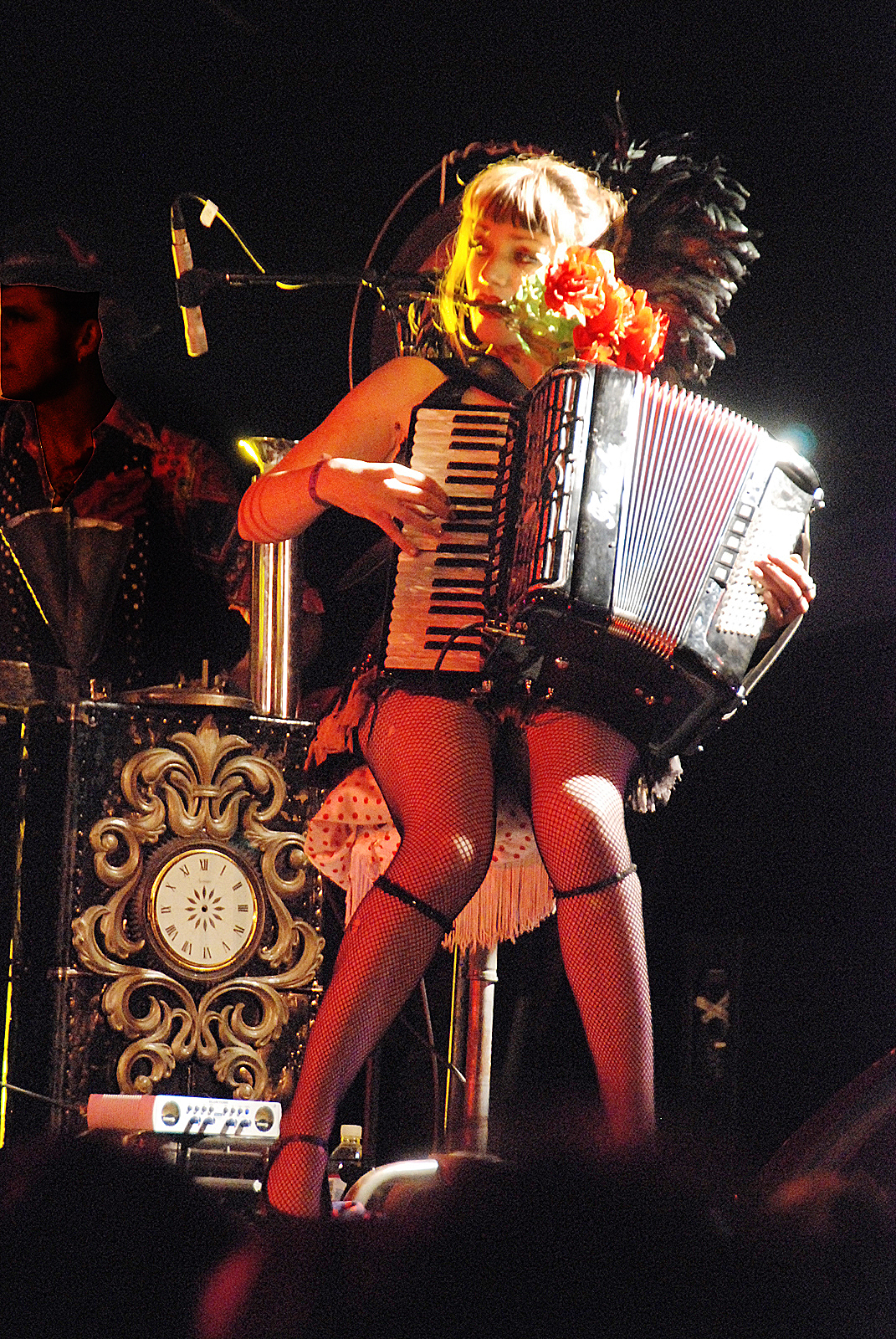 The accordion girl broke my heart