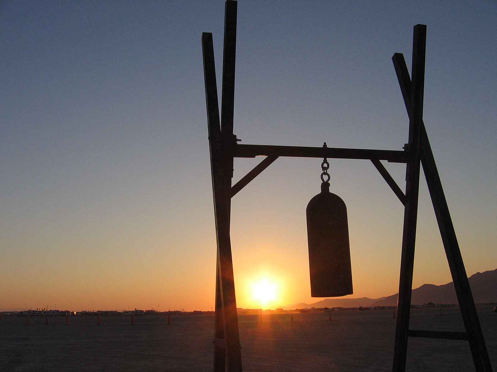 The welcome bell