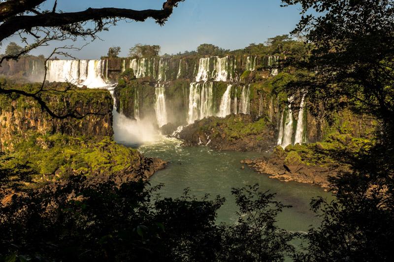 Water everywhere, Iguazu Falls