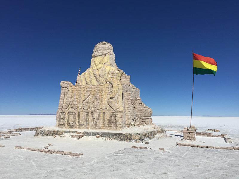 The start of the Dakar Rally, Bolivia style.