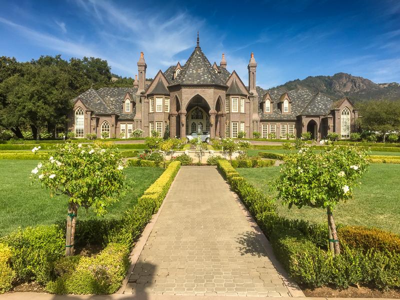 Disney wine castle