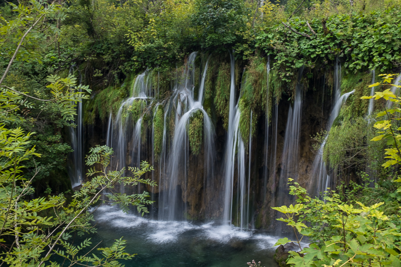 Waterfall lover's delight at Plitvice National Park