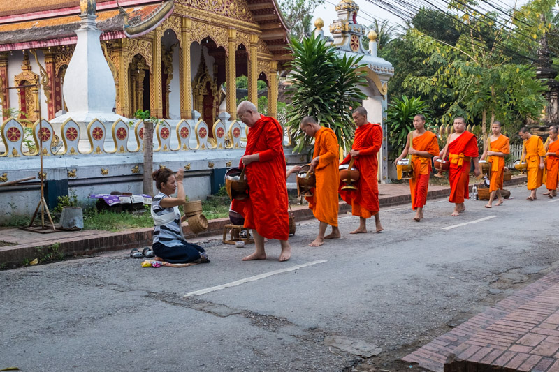 A quiet side street and an opportunity to practise a tradition in peace