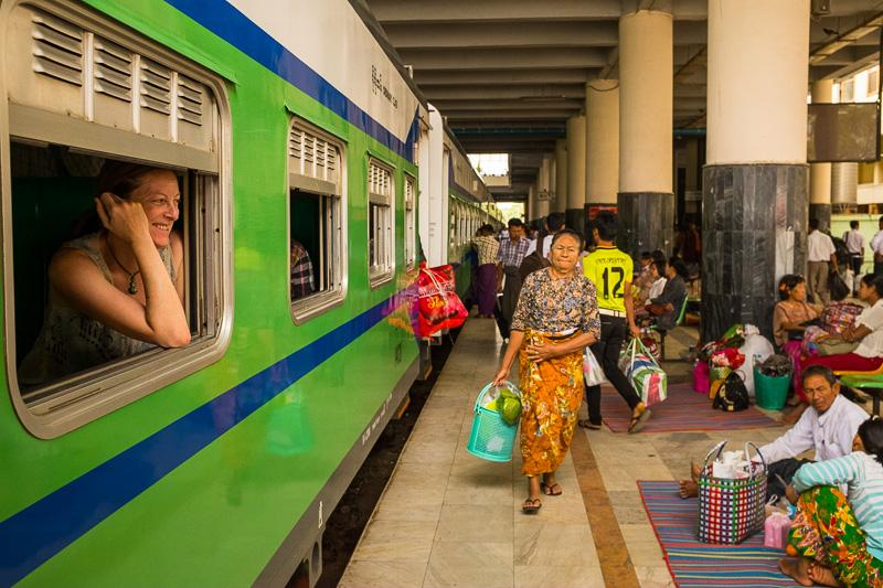 Mandalay Train Station