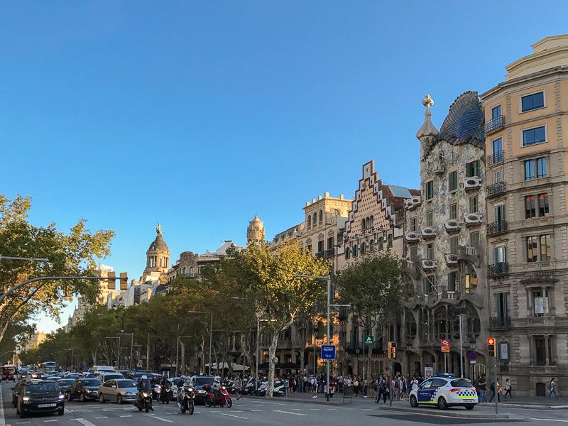 Passeig de Gracia Barcelona