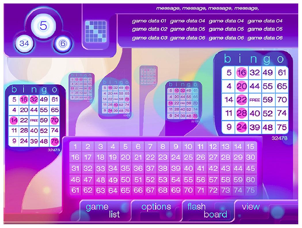 Modern Themed Session Bingo
