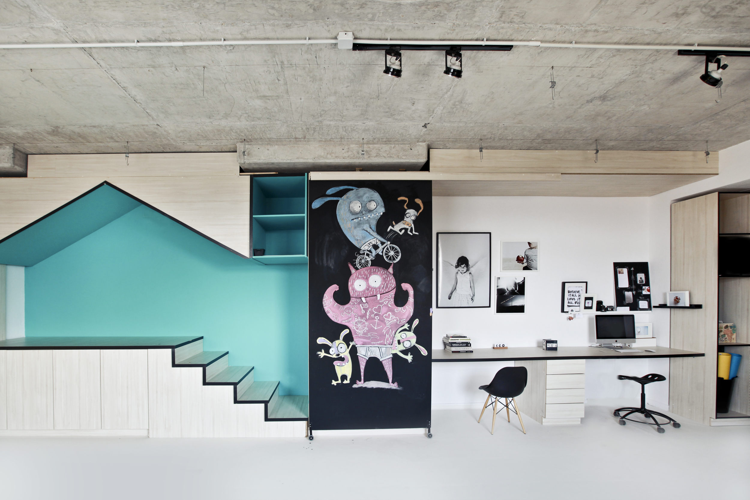 THE STUDIO  Find out about the new  home! The mission, the thinking and the dream behind this children's orientated space!